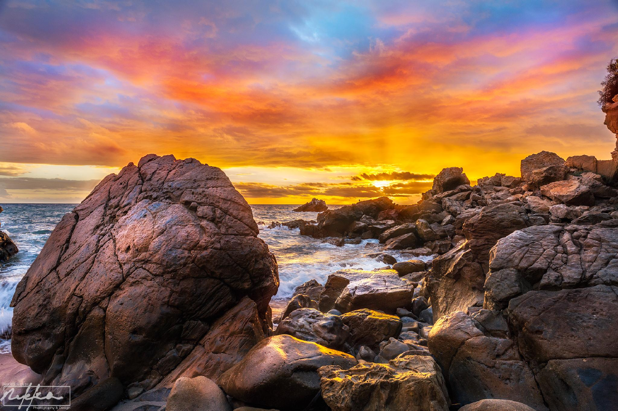 Sunset in Southern California - Nikko Hendi by Nikko Hendi