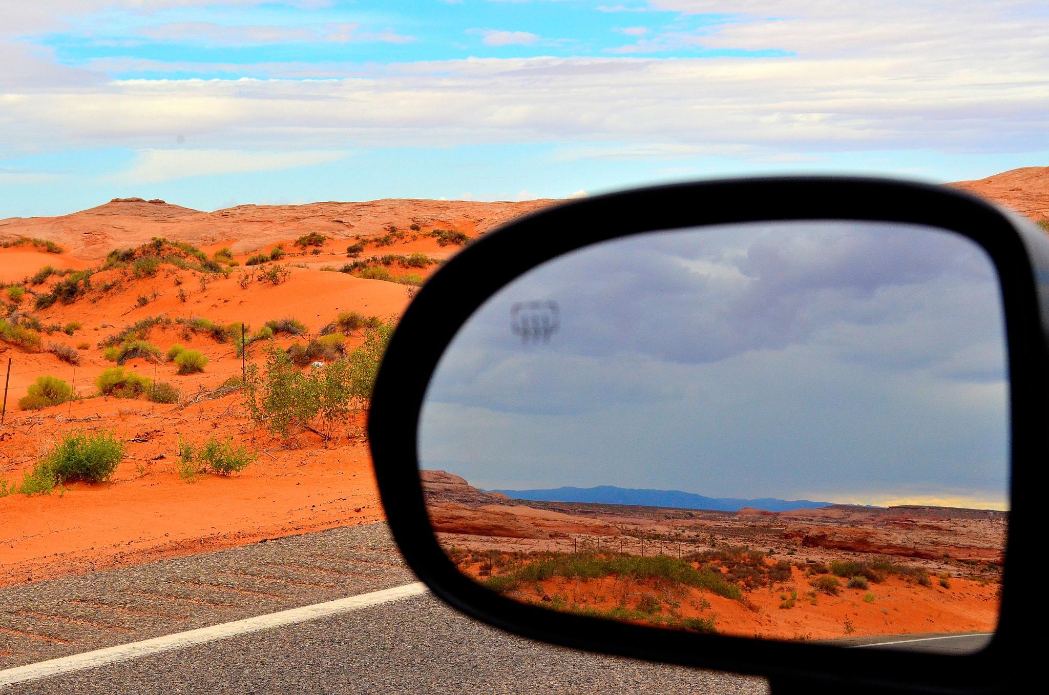 Photo in Landscape #desert #mirror