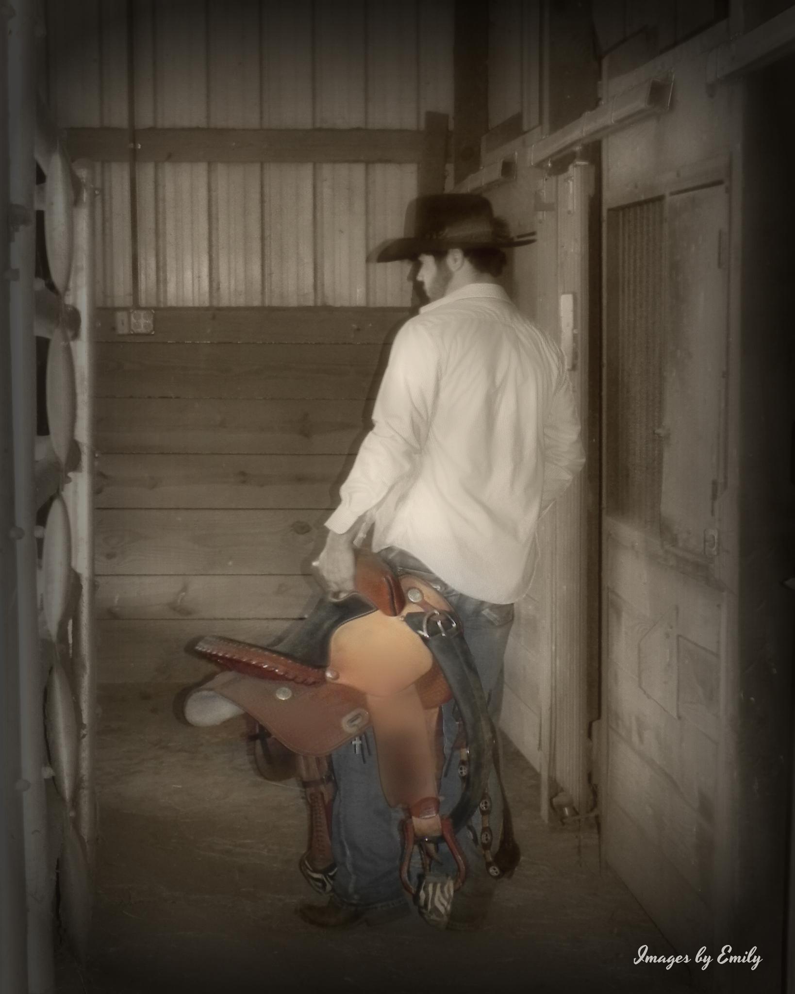 Saddle up by Emily Grant