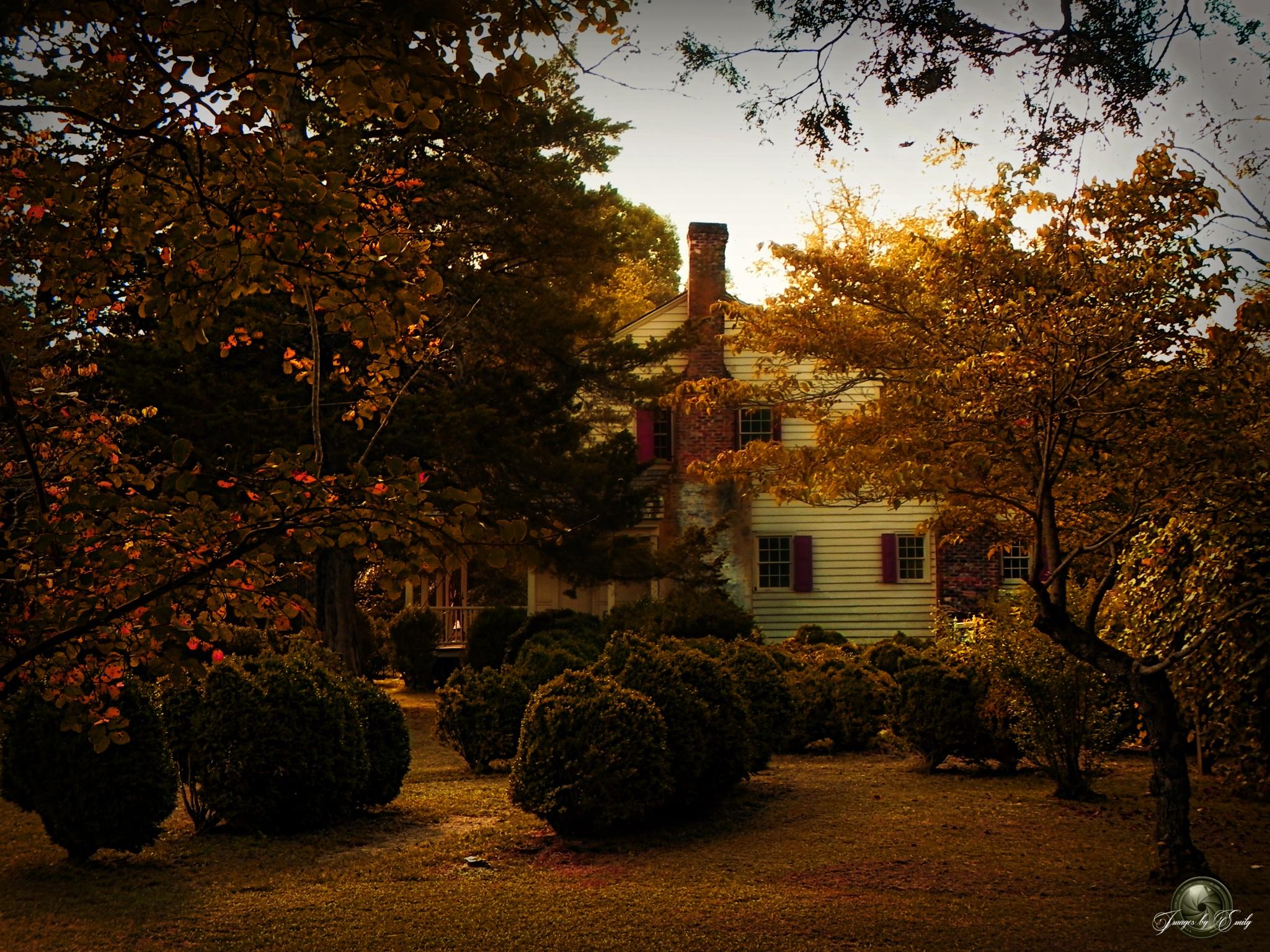 18th Century Farm House ( #3 Plantation Series) by Emily Grant