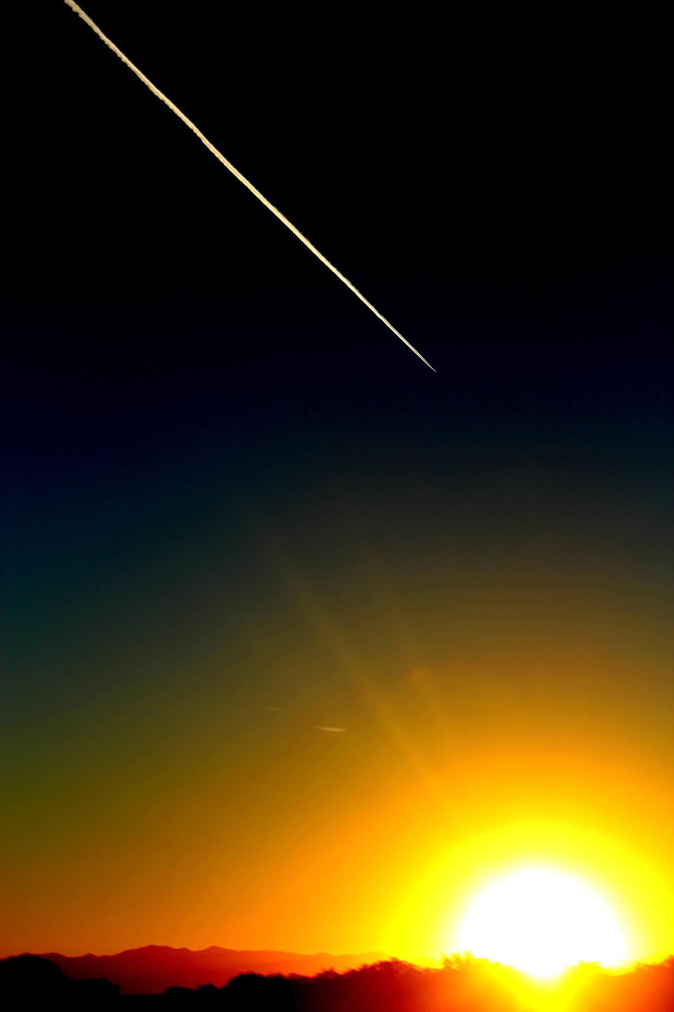 Desert Sunrise by midge.vanetten