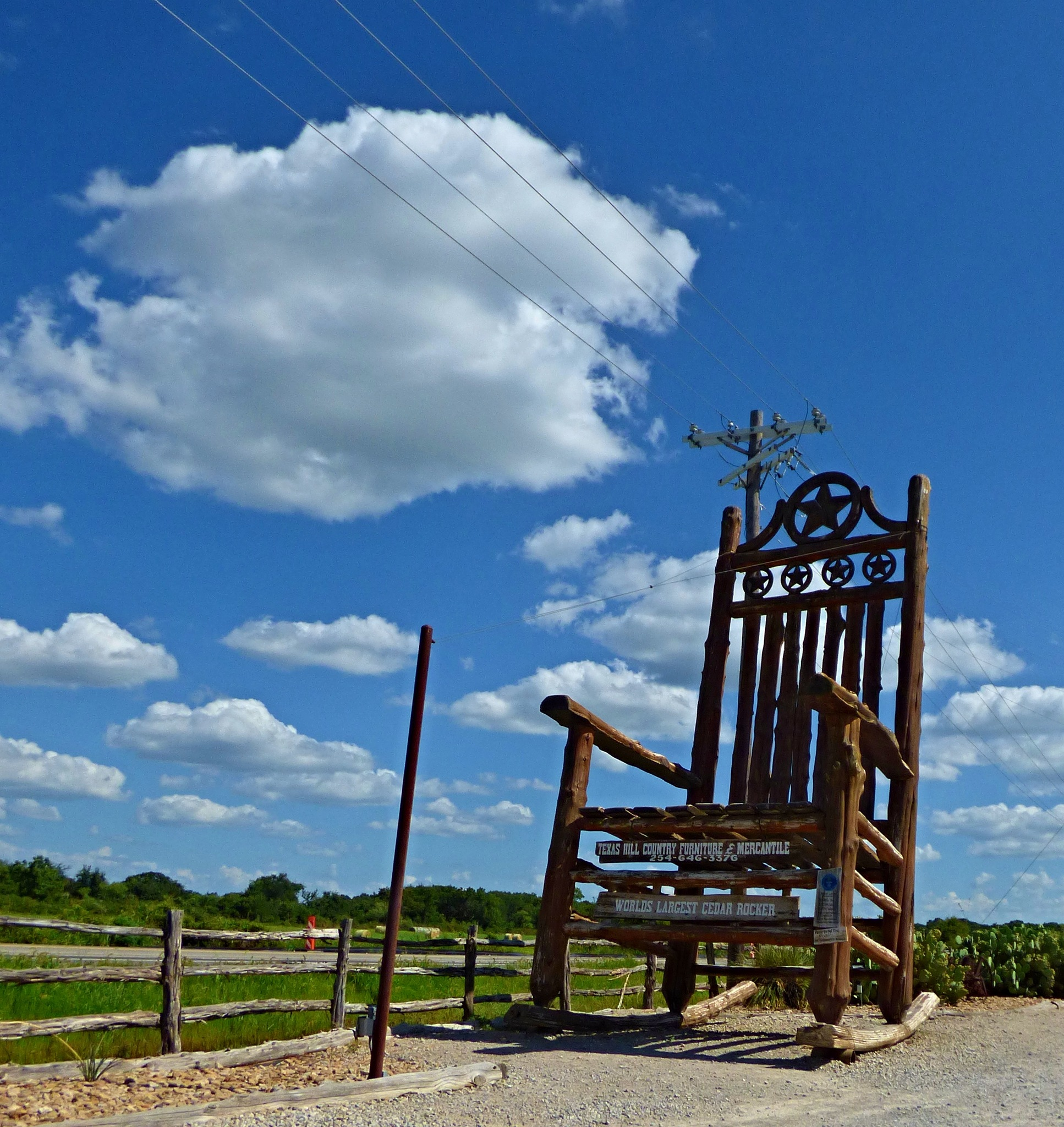 Texas Sized Rocking Chair by nita.andrews.7