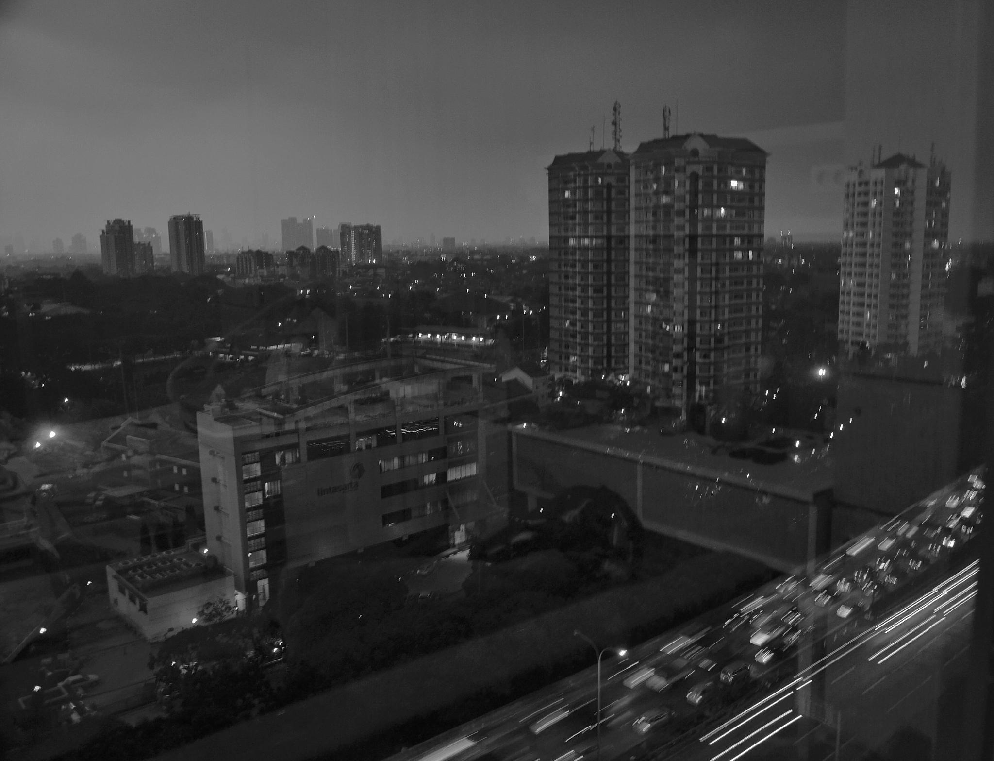 City scape by bambang irawan