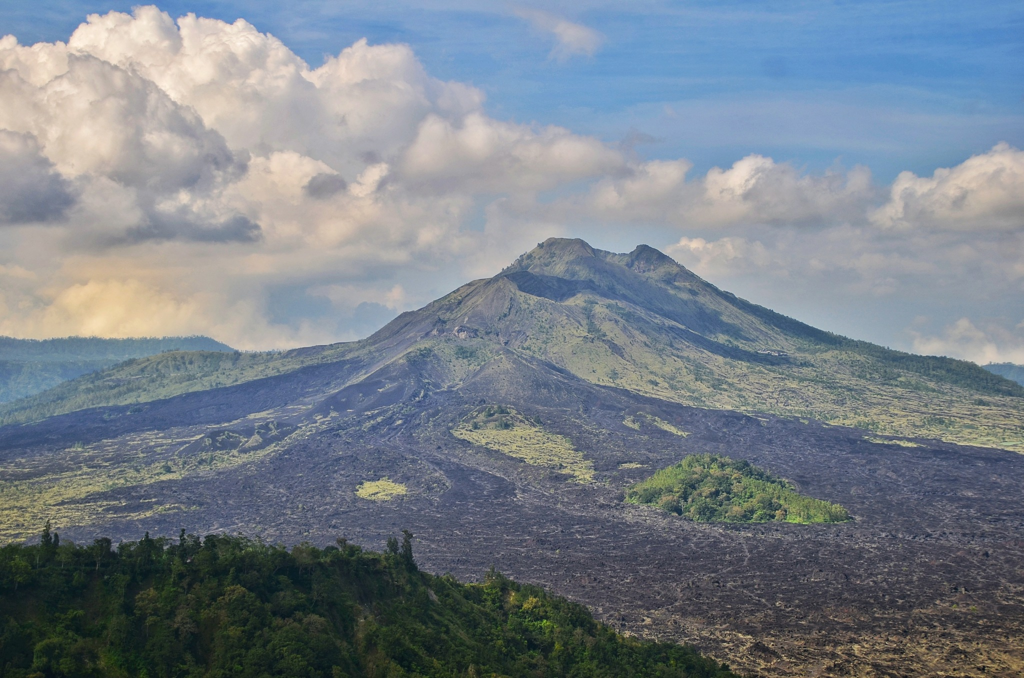Batur Mount Bali - Indonesia by bambang irawan