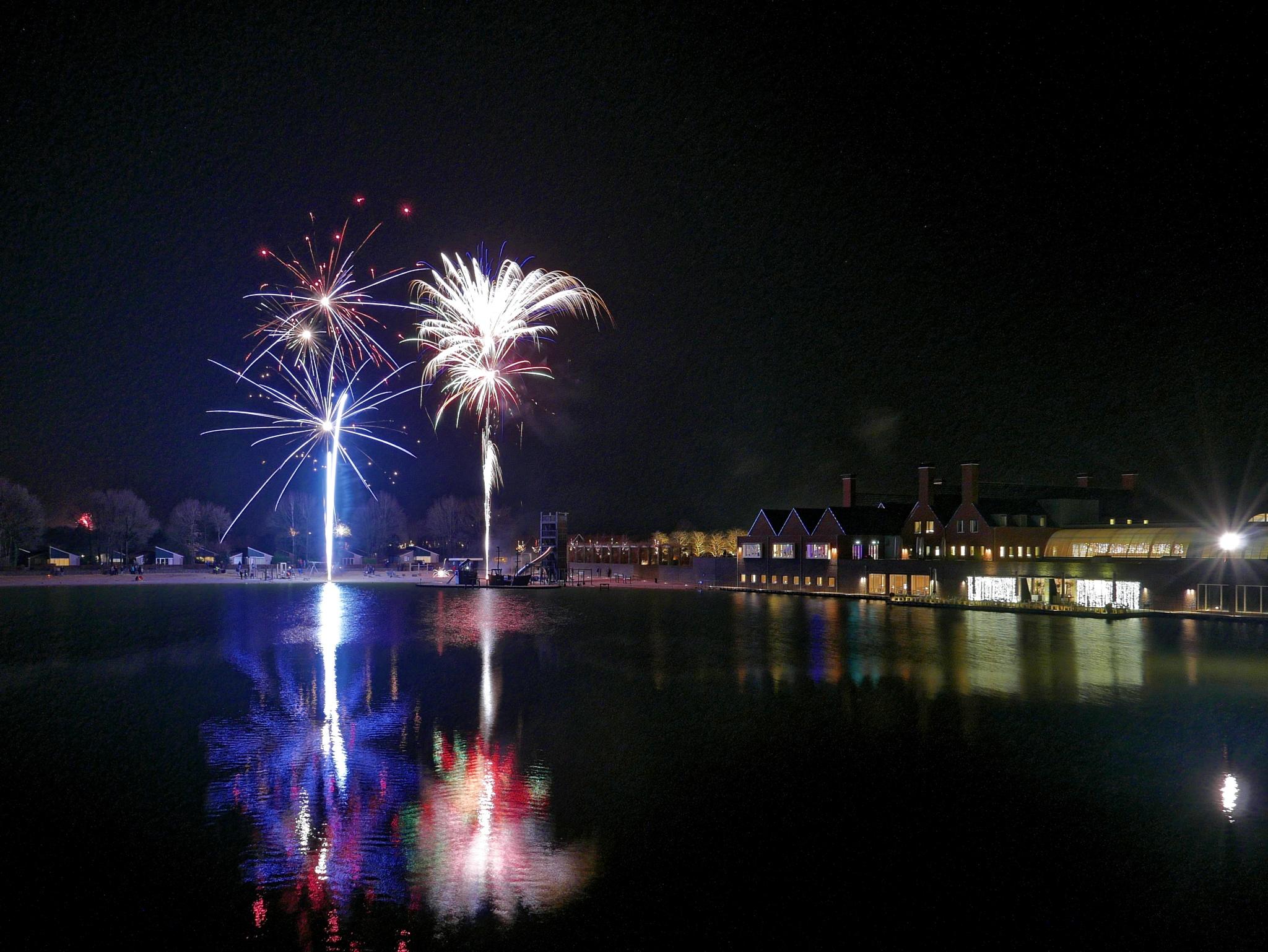 Fireworks at hof van saksen by theseend