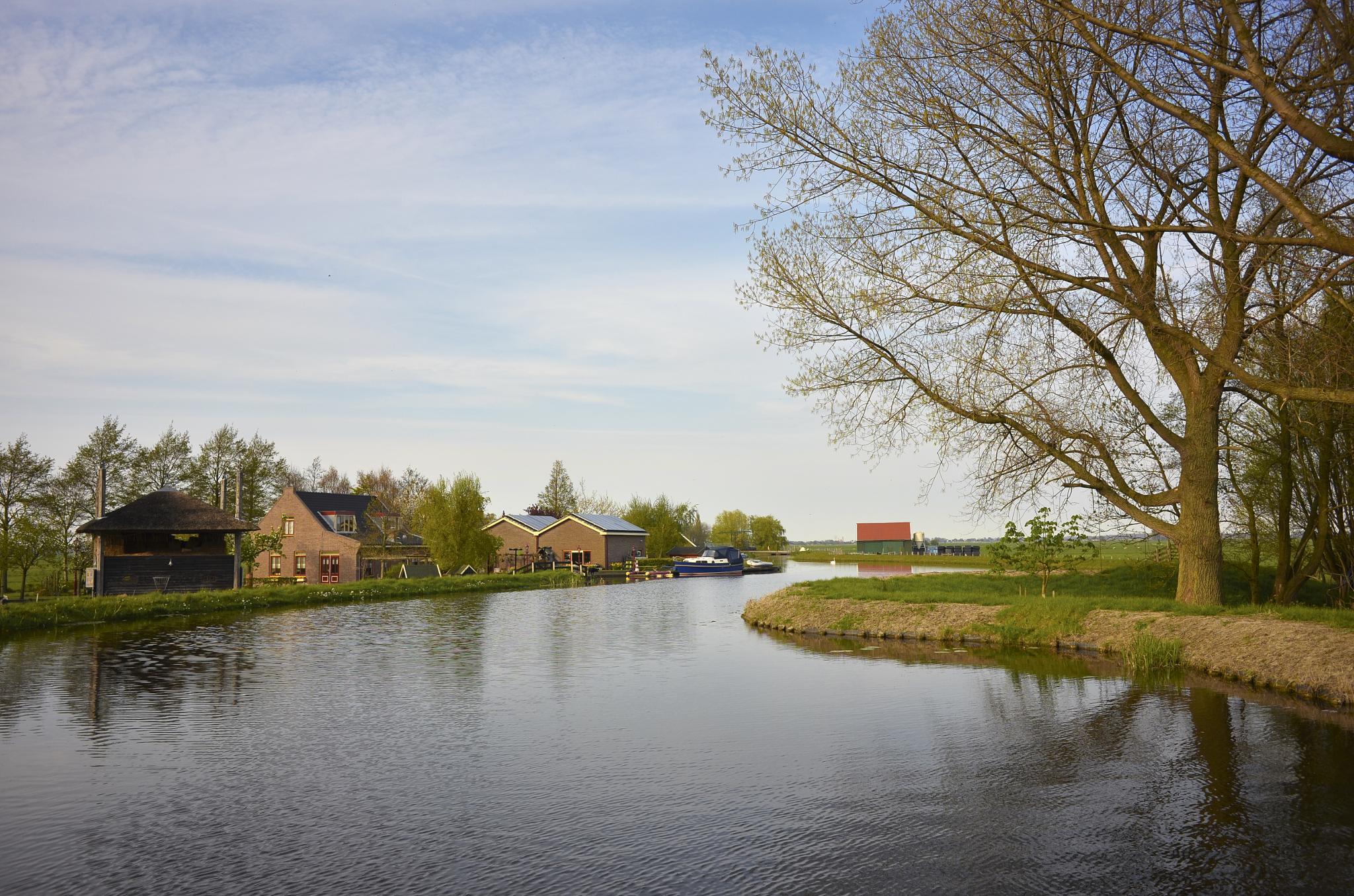 Photo in Random #farm #landscape #coolpix a #holland #netherlands