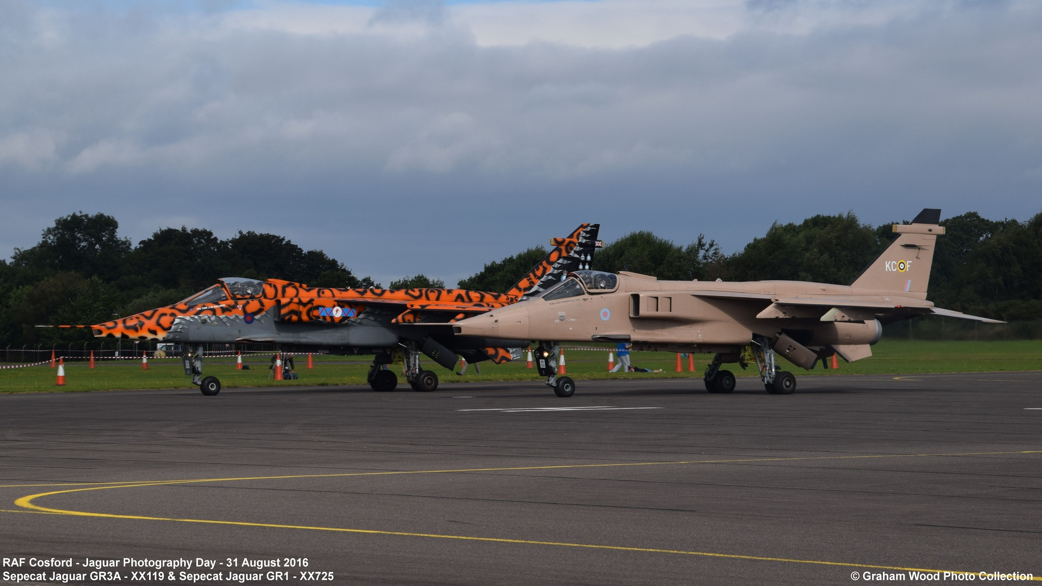 RAF Cosford - Jaguar Photography Day - 31 August 2016 by Graham Wood Photo Collection