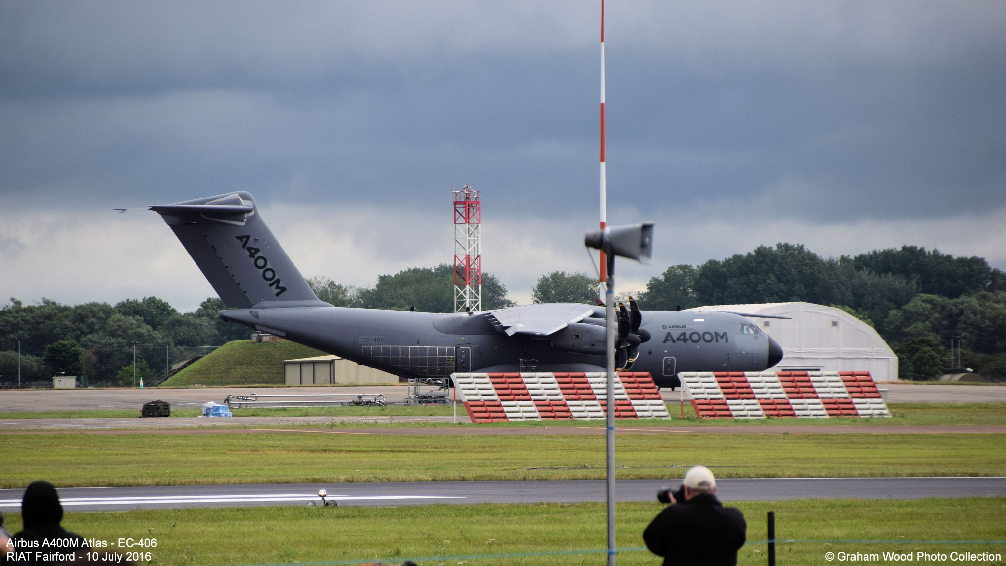 Airbus A400M Atlas - EC-406 by Graham Wood Photo Collection
