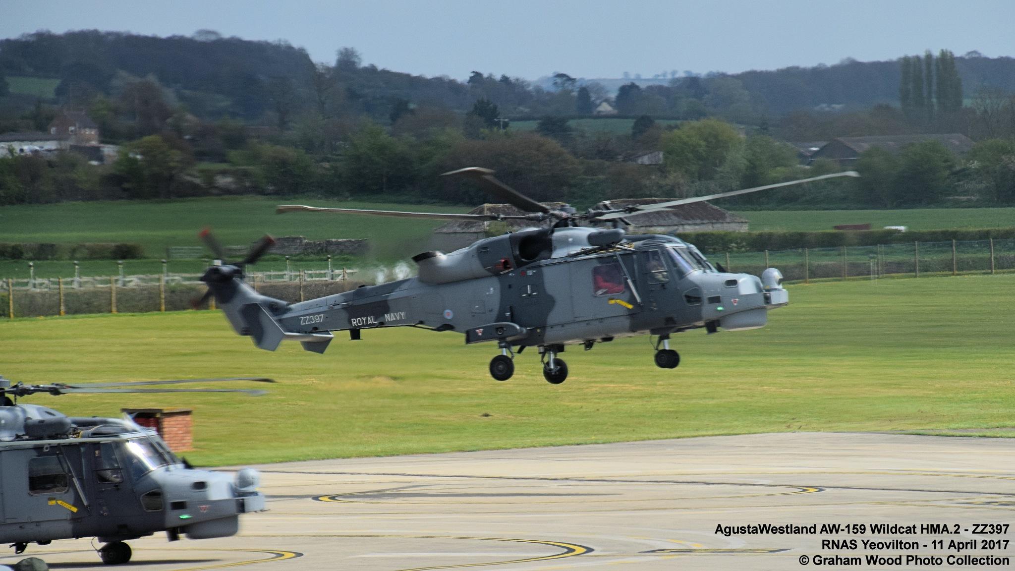 AgustaWestland AW-159 Wildcat HMA.2 - ZZ397 by Graham Wood Photo Collection