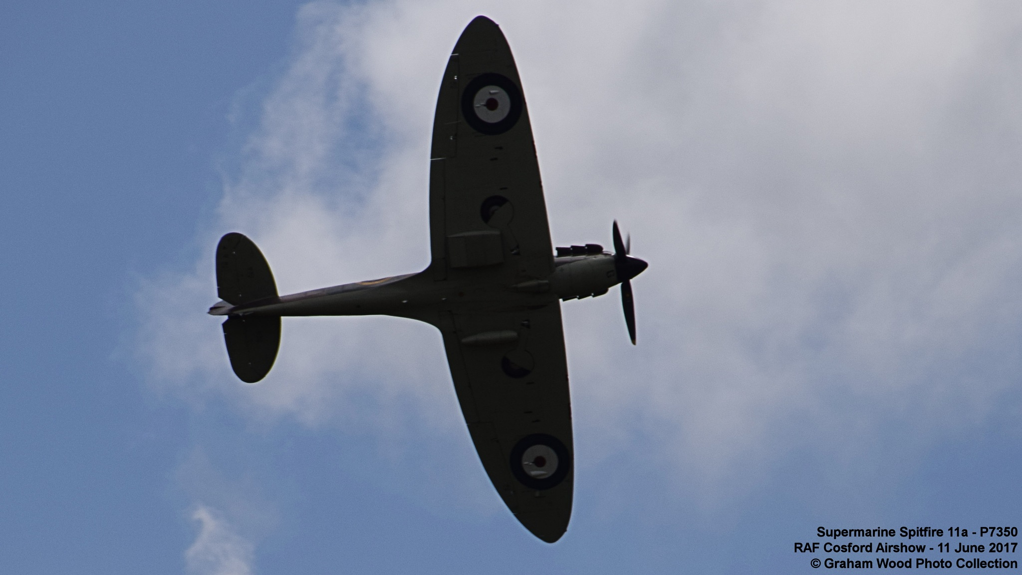 Supermarine Spitfire 11a - P7350 by Graham Wood Photo Collection