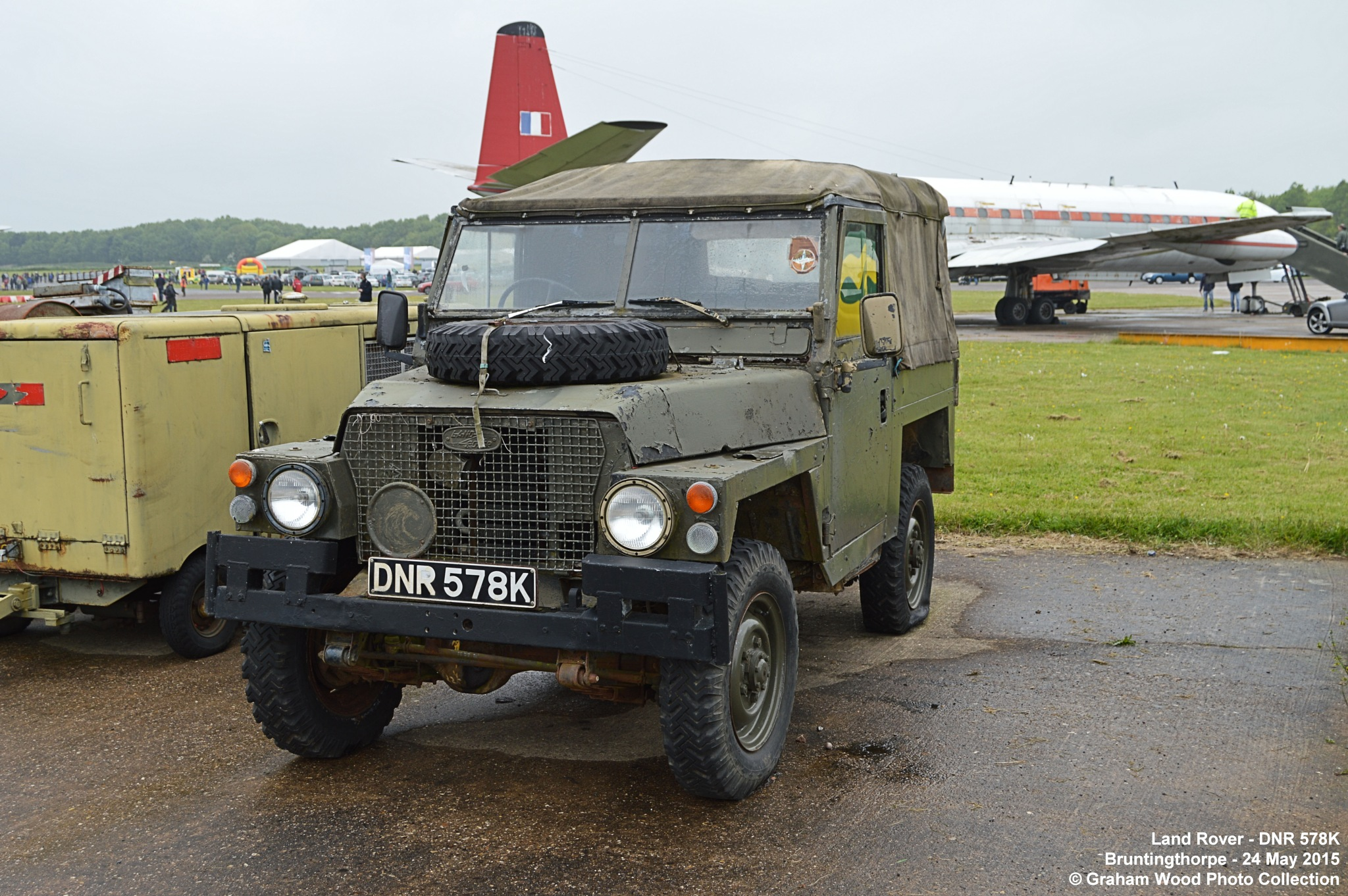 Land Rover - DNR 578K by Graham Wood Photo Collection