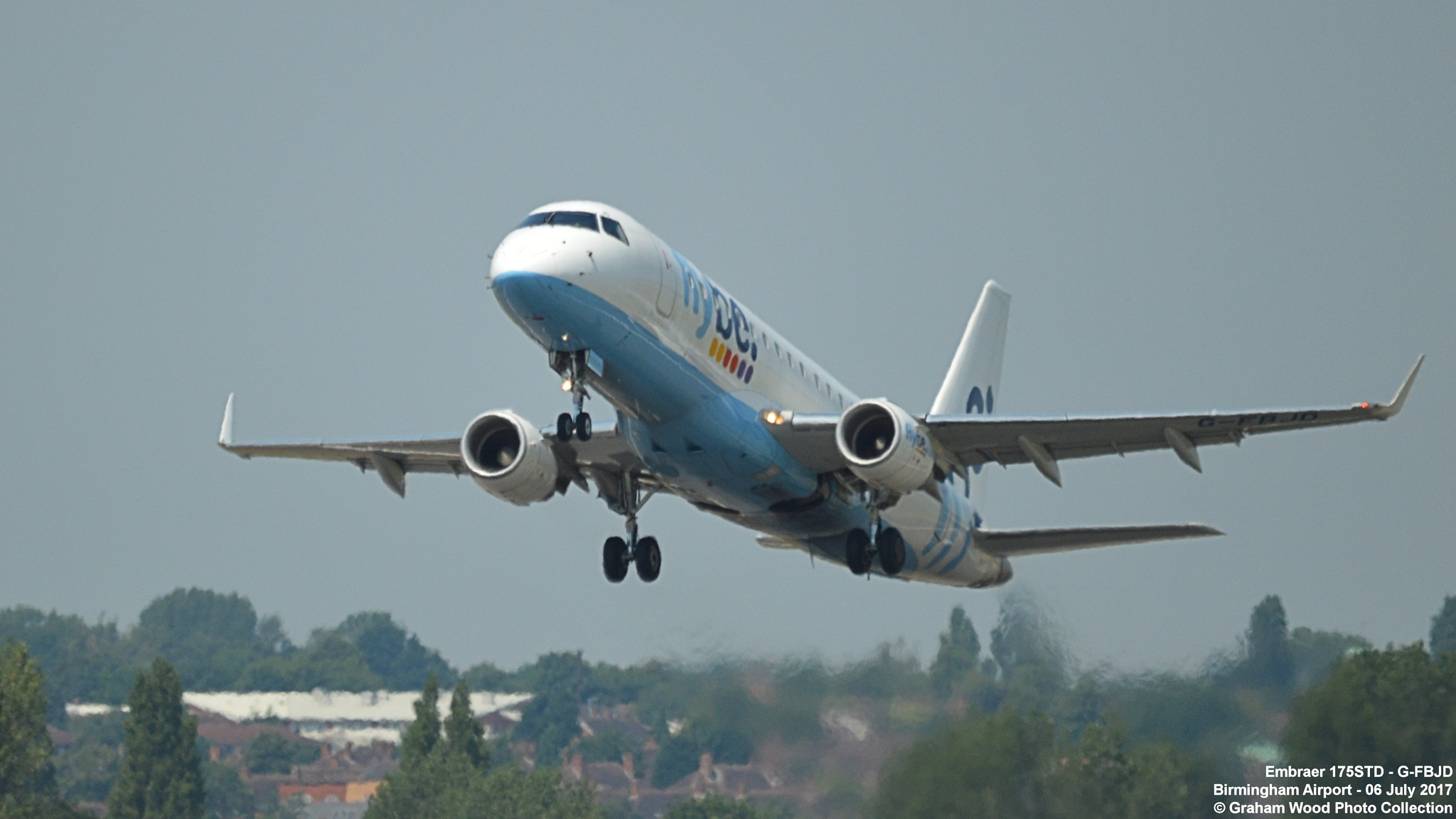 Embraer 175STD - G-FBJD by Graham Wood Photo Collection