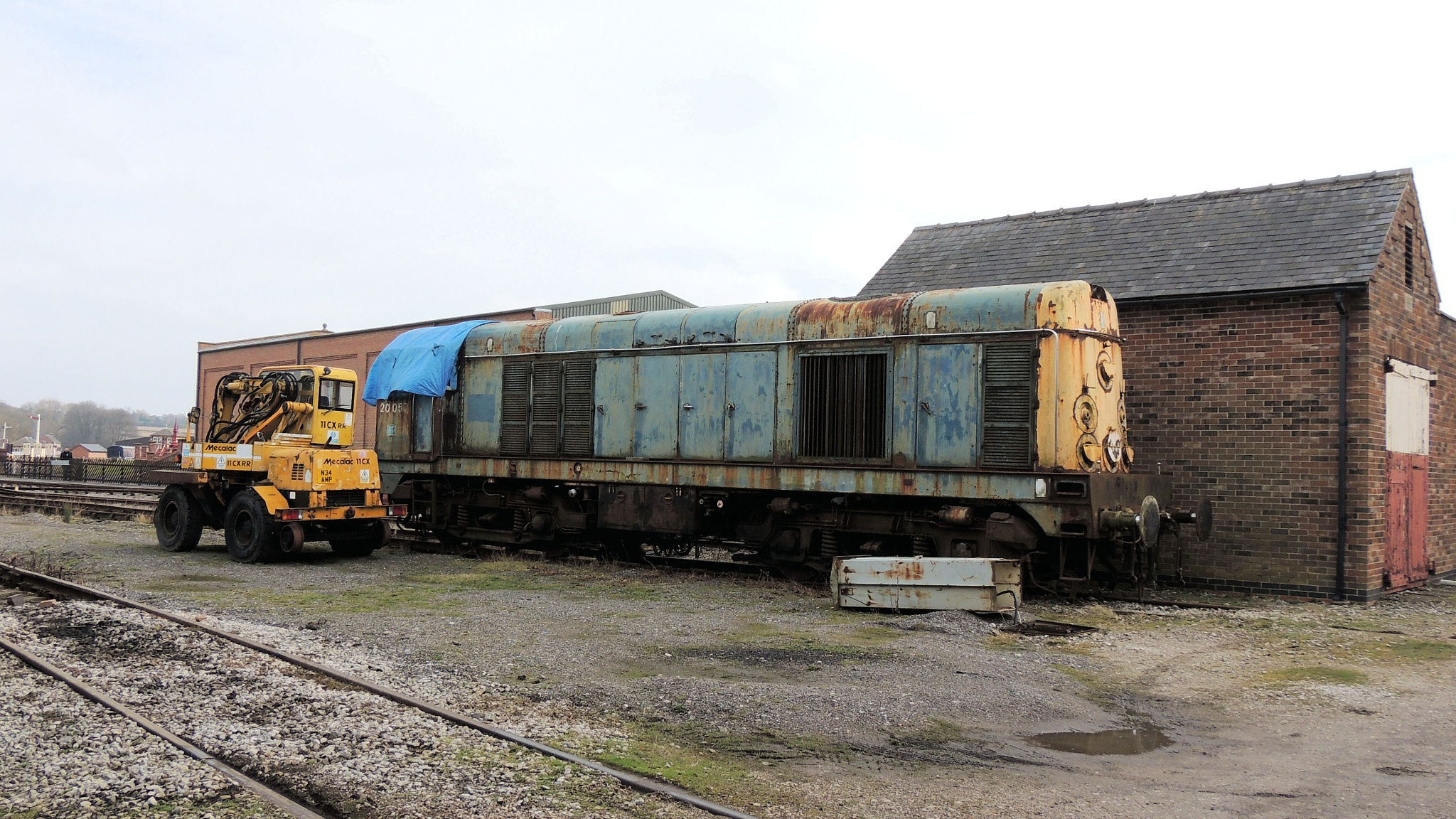 Class 20 - 20057 Bo-Bo Diesel Electric Locomotive by Graham Wood Photo Collection