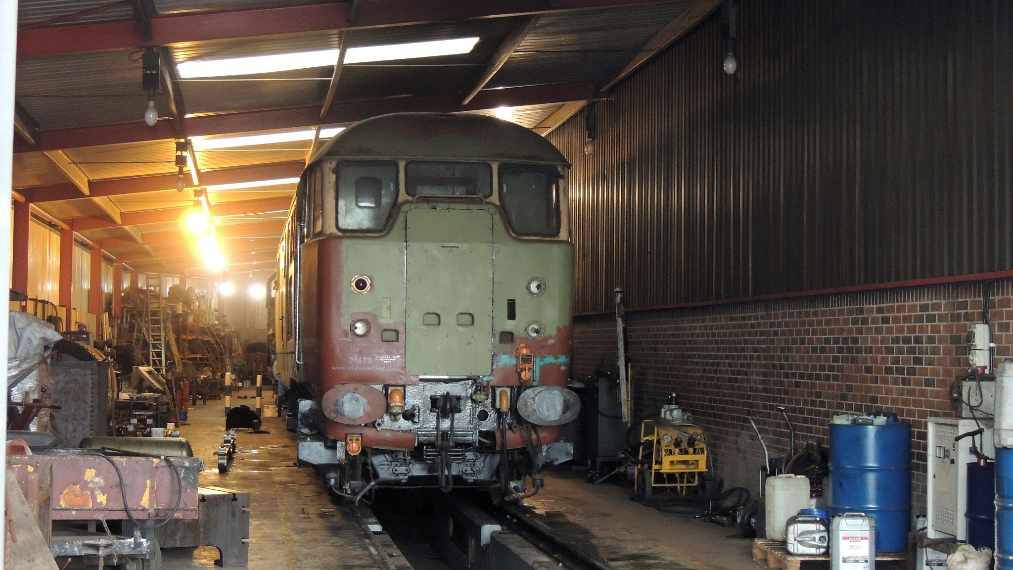 Class 31 - 31108 A1A-A1A Diesel Electric Locomotive by Graham Wood Photo Collection