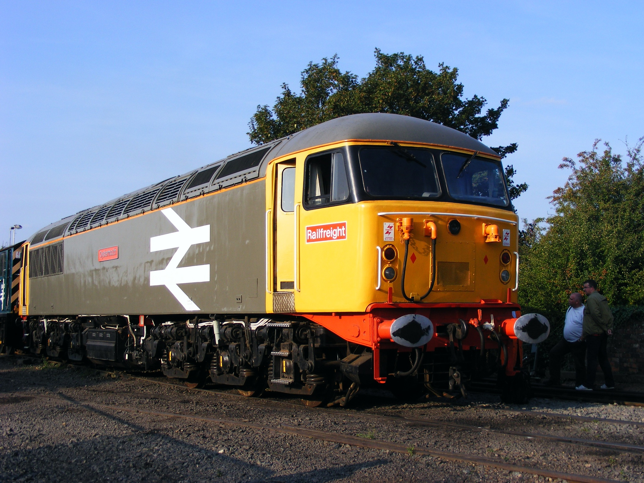 Class 56 - 56040 Co-Co Diesel Electric Locomotive - Oystermouth by Graham Wood Photo Collection