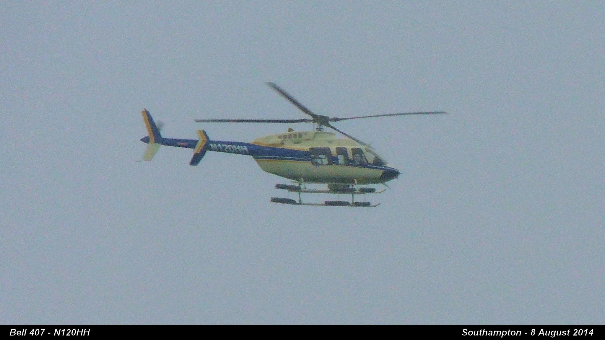 Bell 407 - N120HH  by Graham Wood Photo Collection