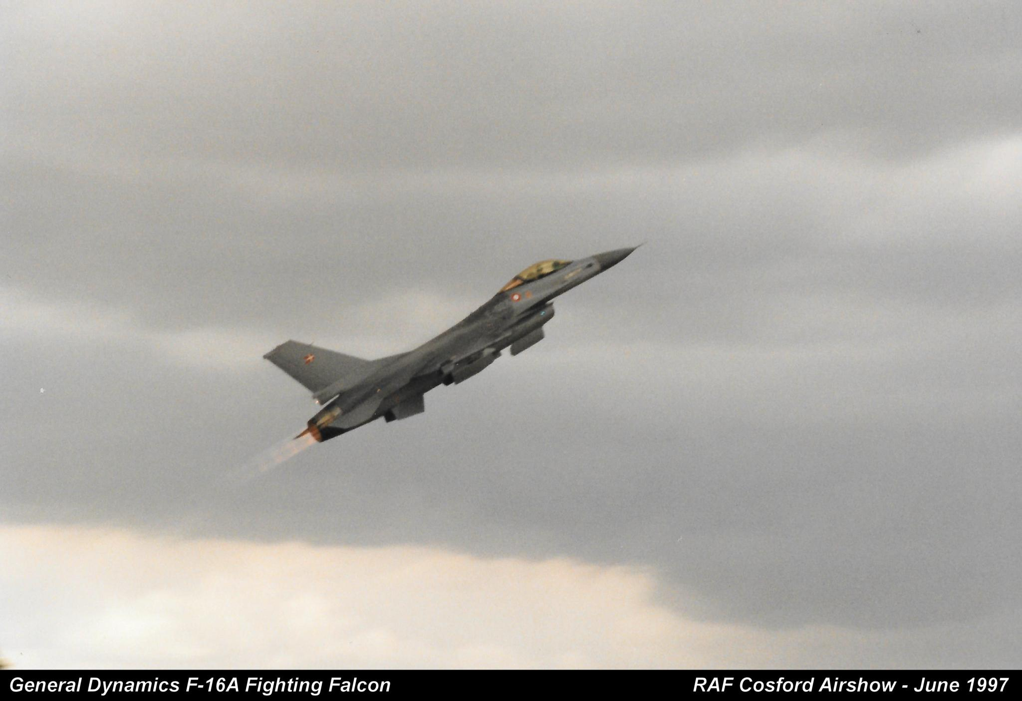 General Dynamics F-16A Fighting Falcon by Graham Wood Photo Collection