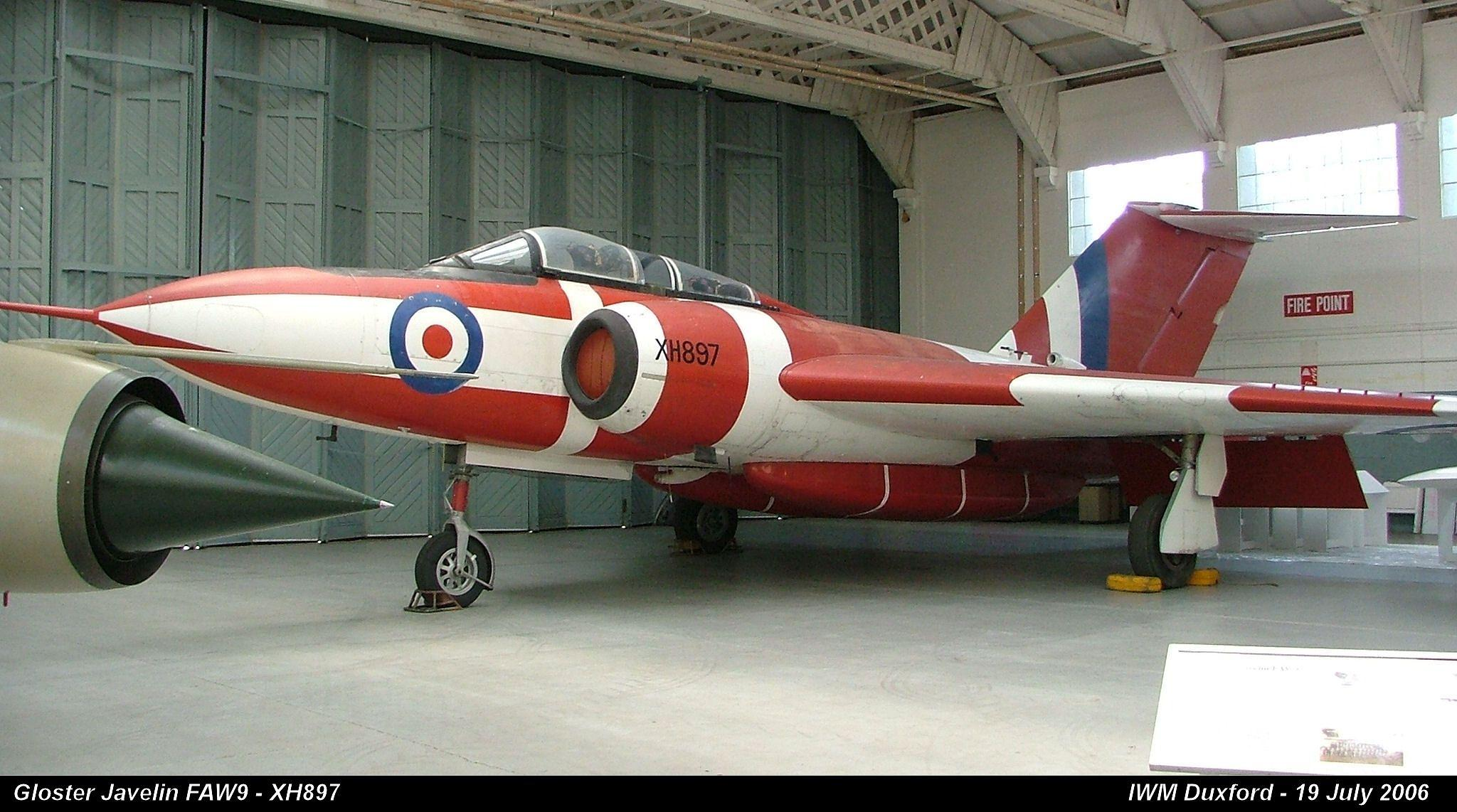 Gloster Javelin FAW9 - XH897  by Graham Wood Photo Collection