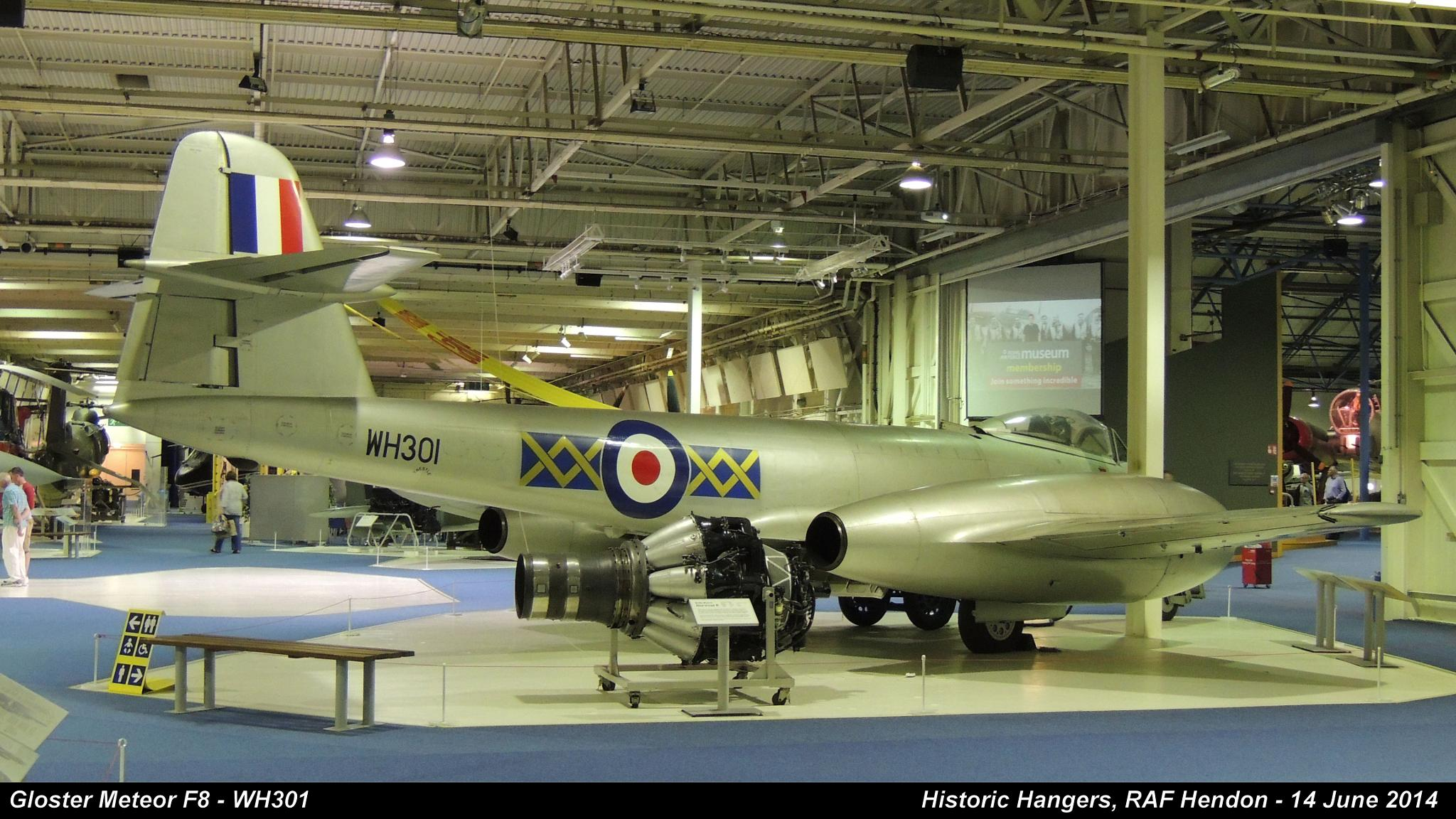 Gloster Meteor F8 - WH301 by Graham Wood Photo Collection