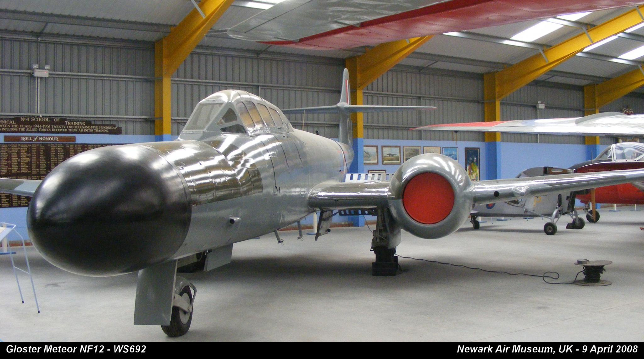 Gloster Meteor NF12 - WS692 by Graham Wood Photo Collection