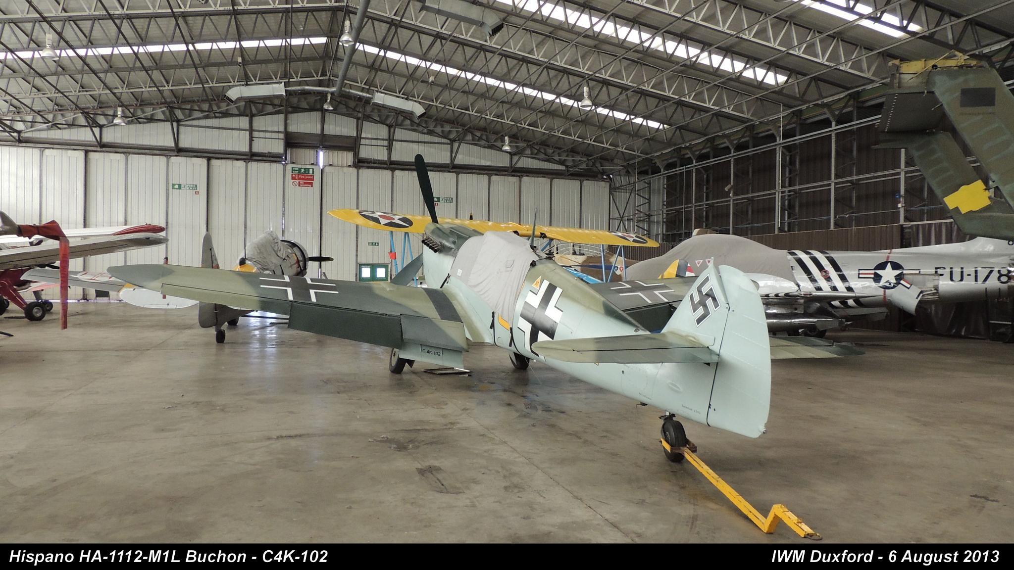 Hispano HA-1112-M1L Buchon - C4K-102 by Graham Wood Photo Collection