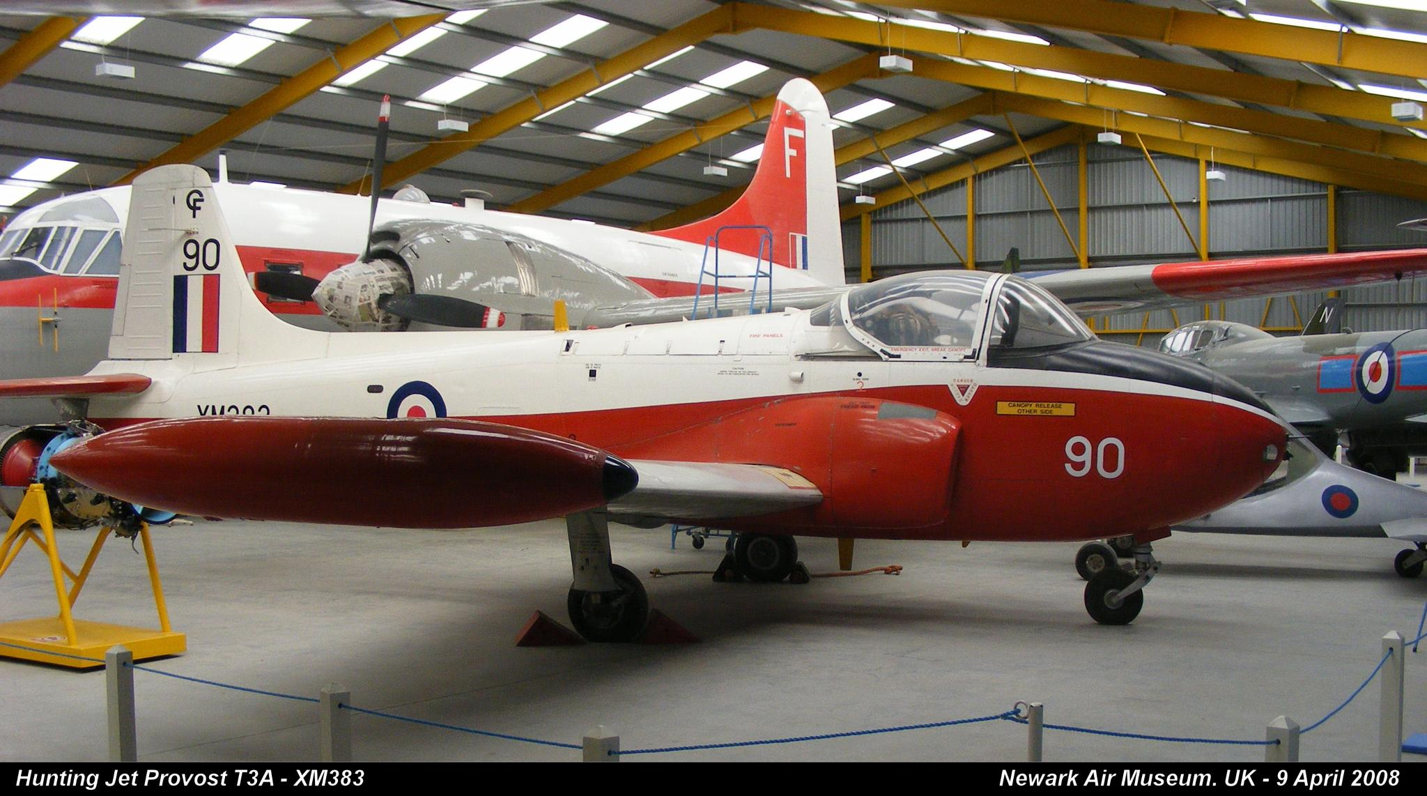 Hunting Jet Provost T3A - XM383 by Graham Wood Photo Collection