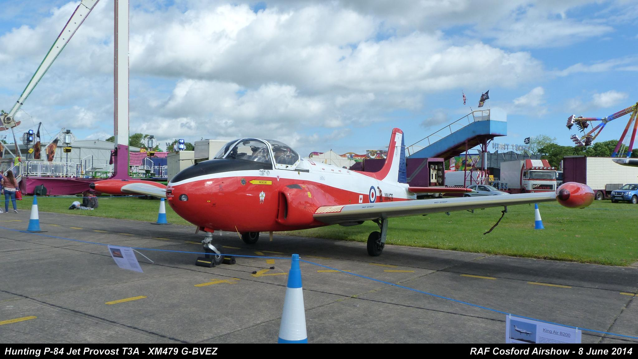 Hunting P-84 Jet Provost T3A - XM479 G-BVEZ by Graham Wood Photo Collection