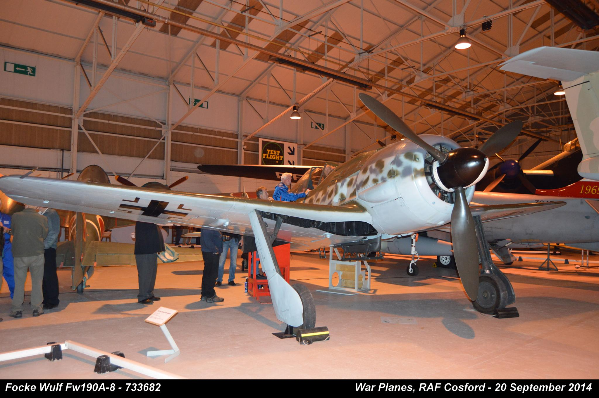 Focke Wulf Fw190A-8 - 733682 by Graham Wood Photo Collection