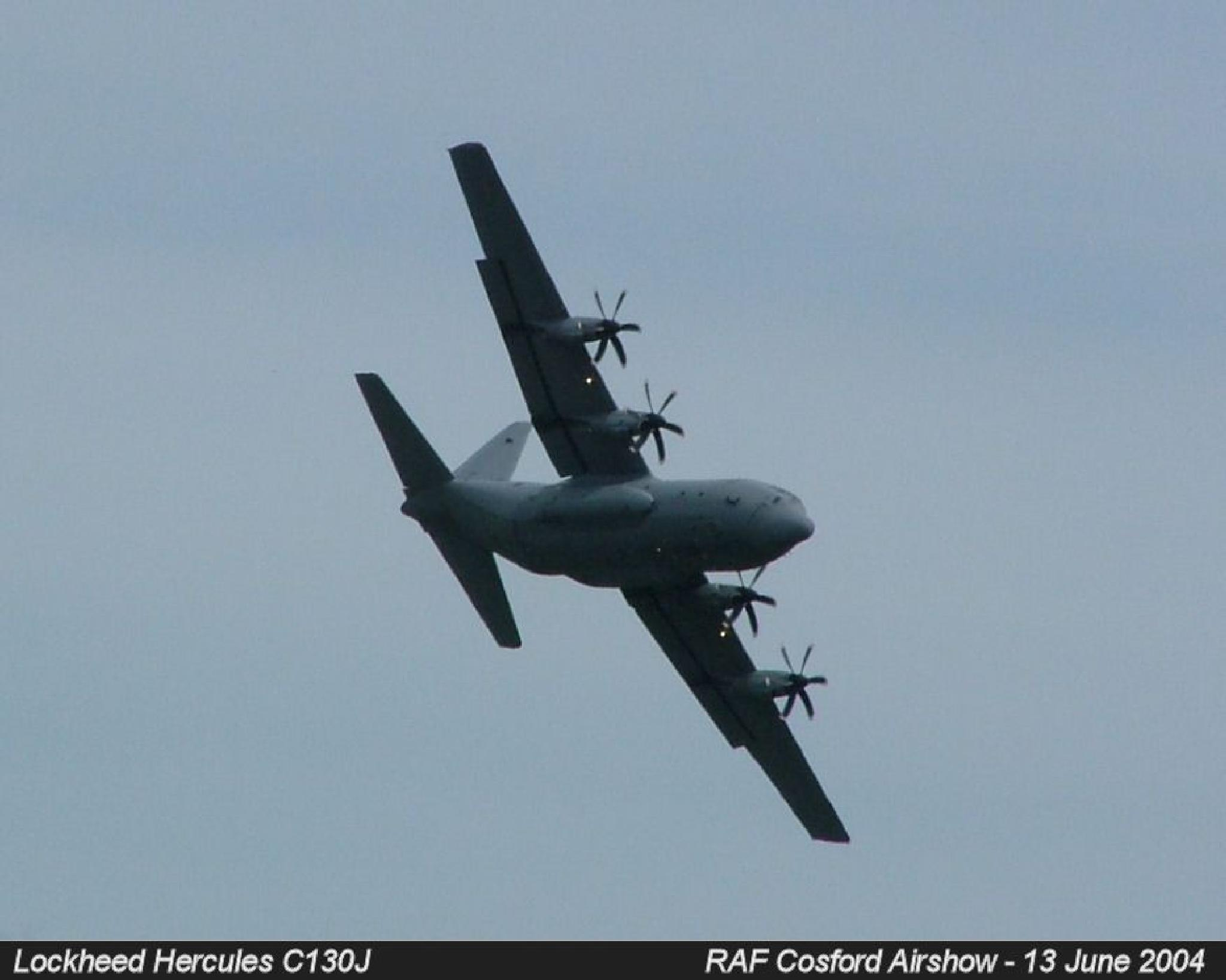 Lockheed Hercules C130J by Graham Wood Photo Collection