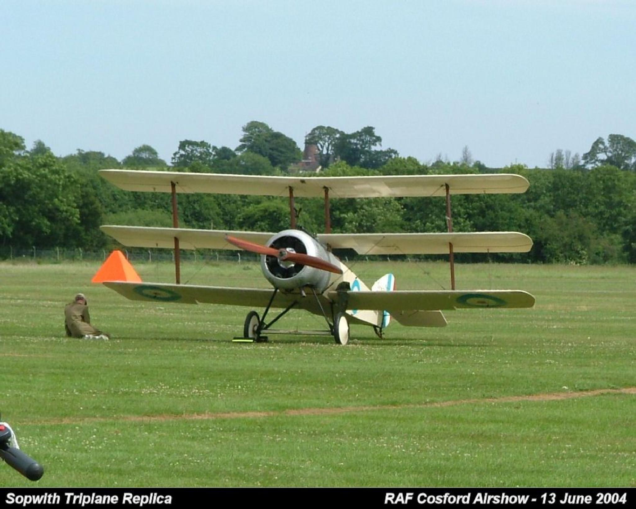 Sopwith Triplane Replica  by Graham Wood Photo Collection