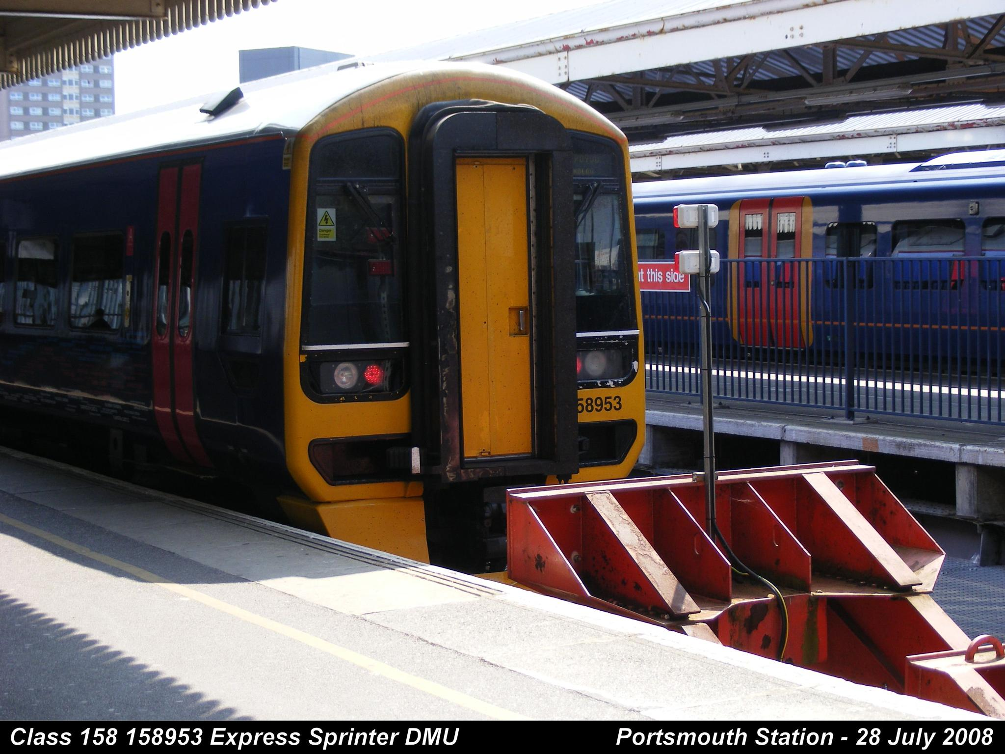Class 158 158953 Express Sprinter Diesel Multiple Unit by Graham Wood Photo Collection