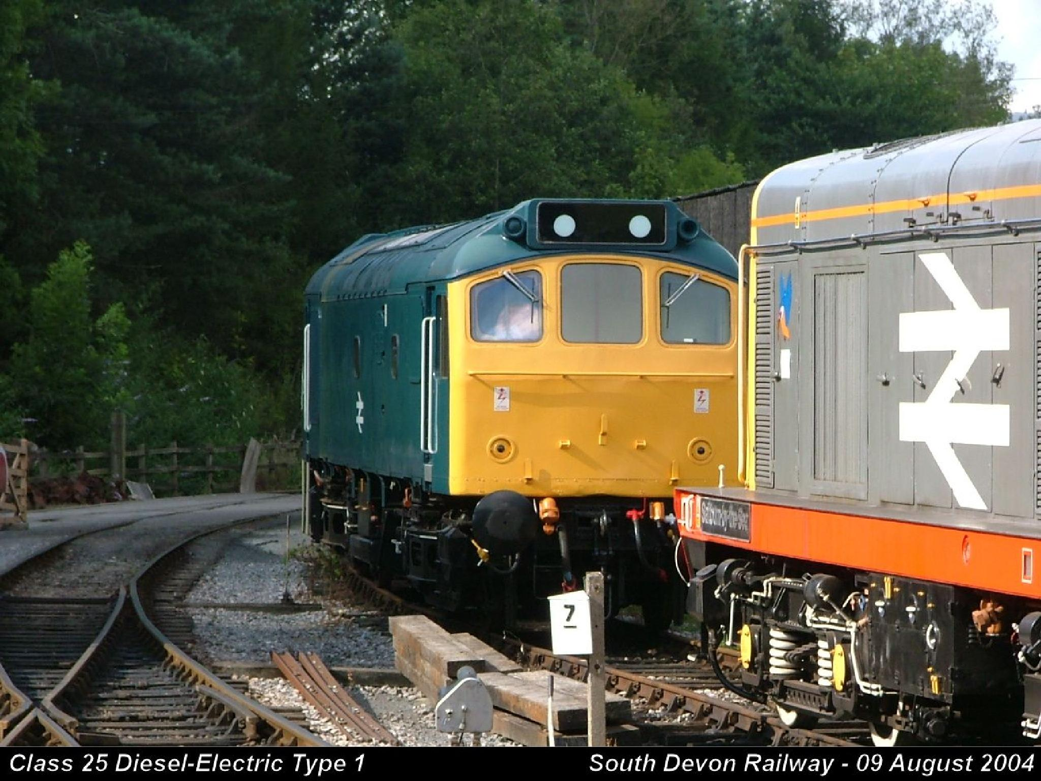 Class 25 Diesel-Electric Type 1 by Graham Wood Photo Collection