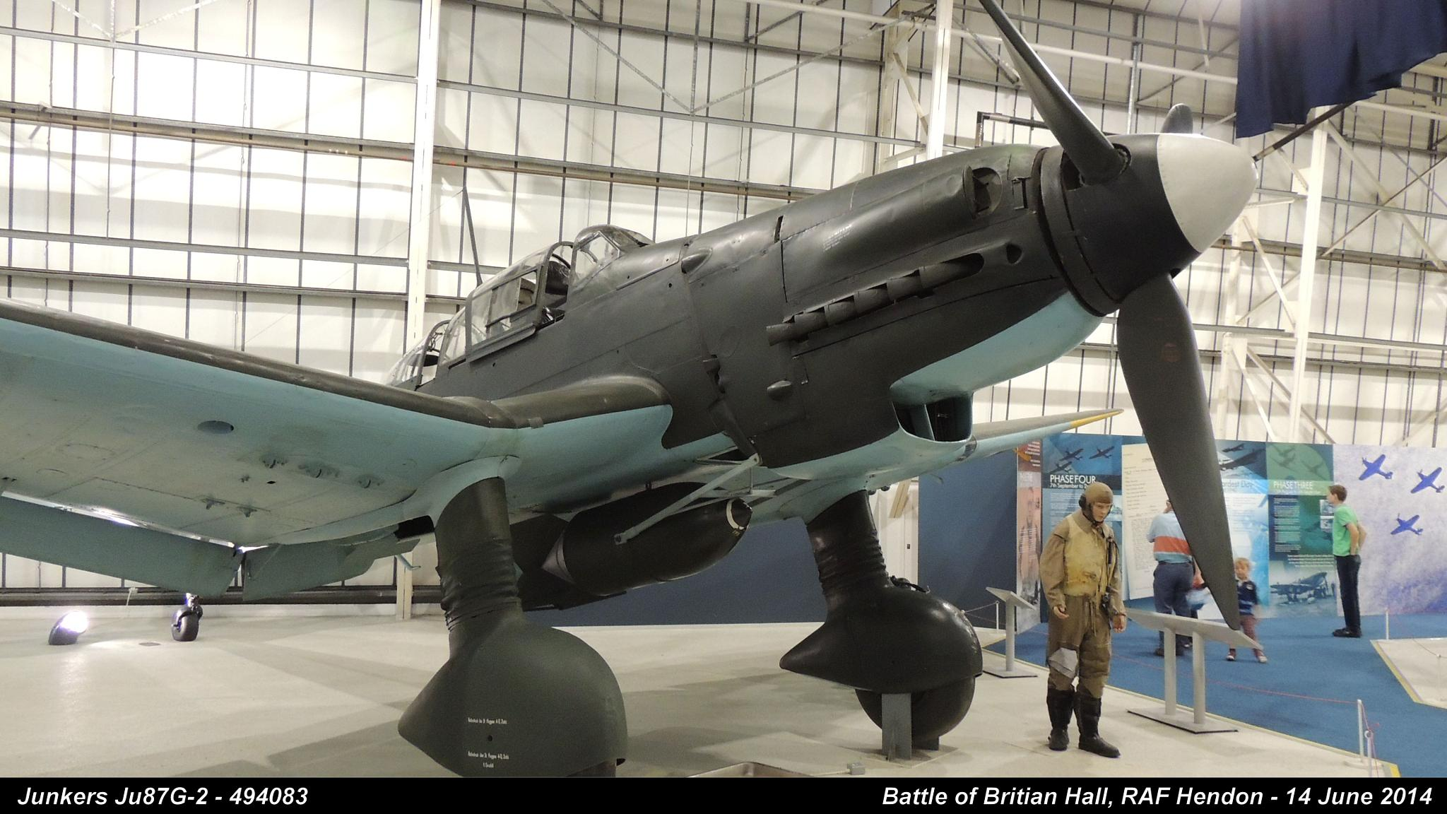 Junkers Ju87G-2 - 494083 by Graham Wood Photo Collection