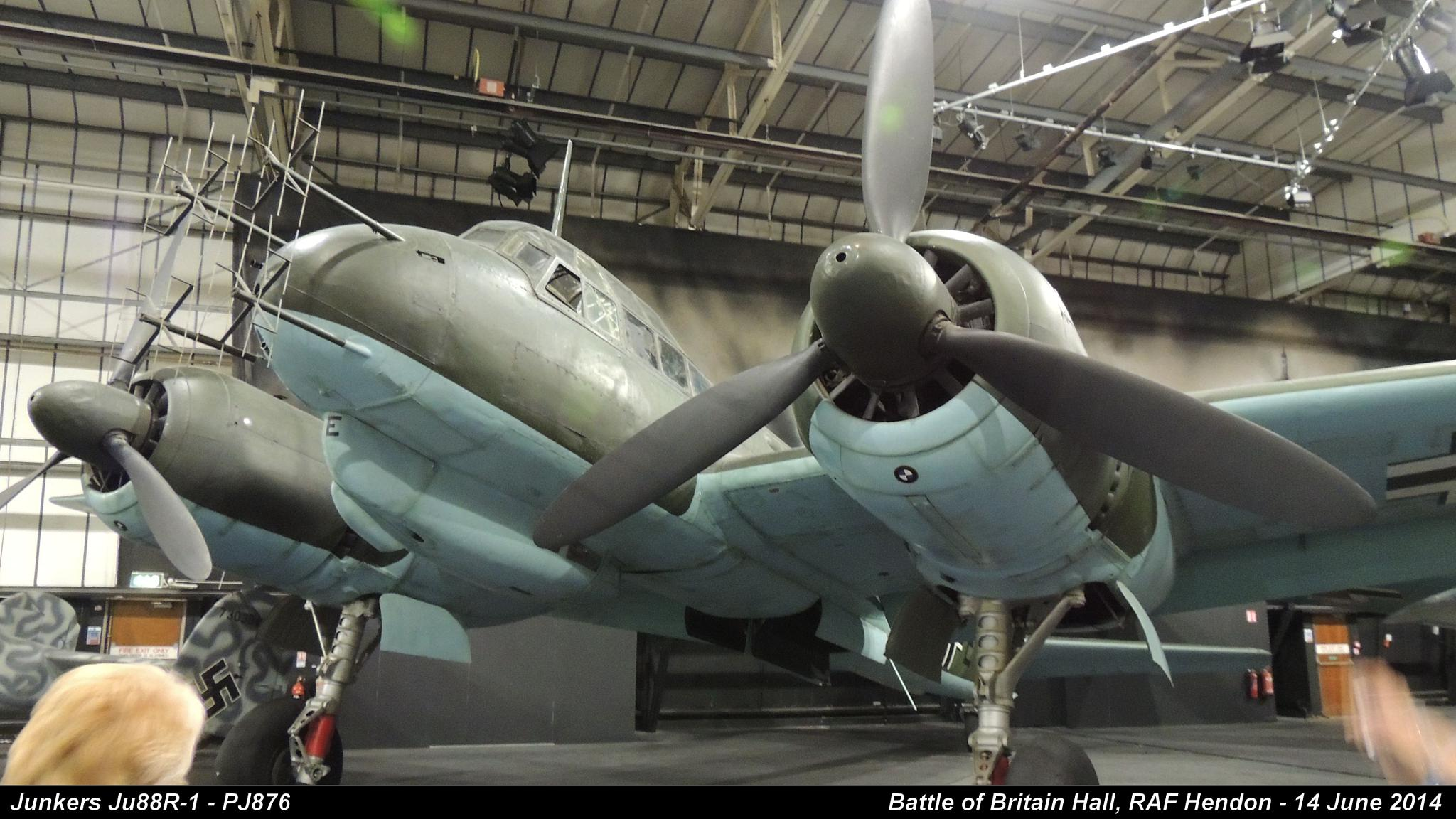 Junkers Ju88R-1 - PJ876 by Graham Wood Photo Collection