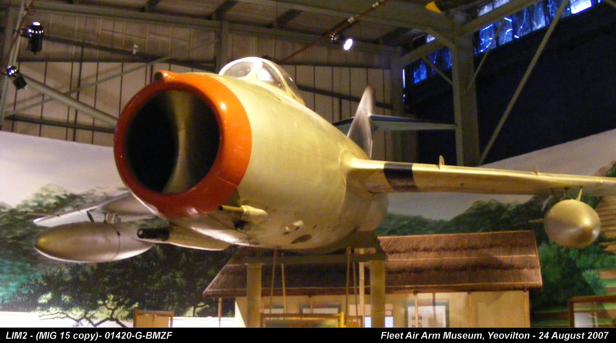 LIM2 - (MIG 15 copy)- 01420 by Graham Wood Photo Collection