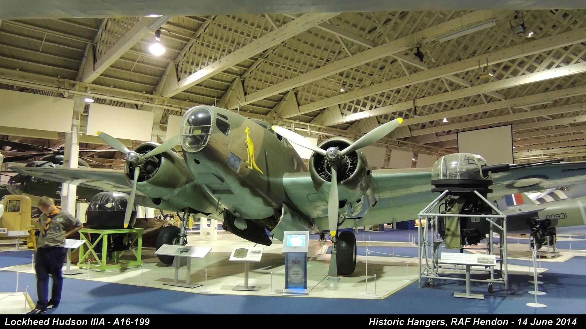 Lockheed Hudson IIIA - A16-199 by Graham Wood Photo Collection