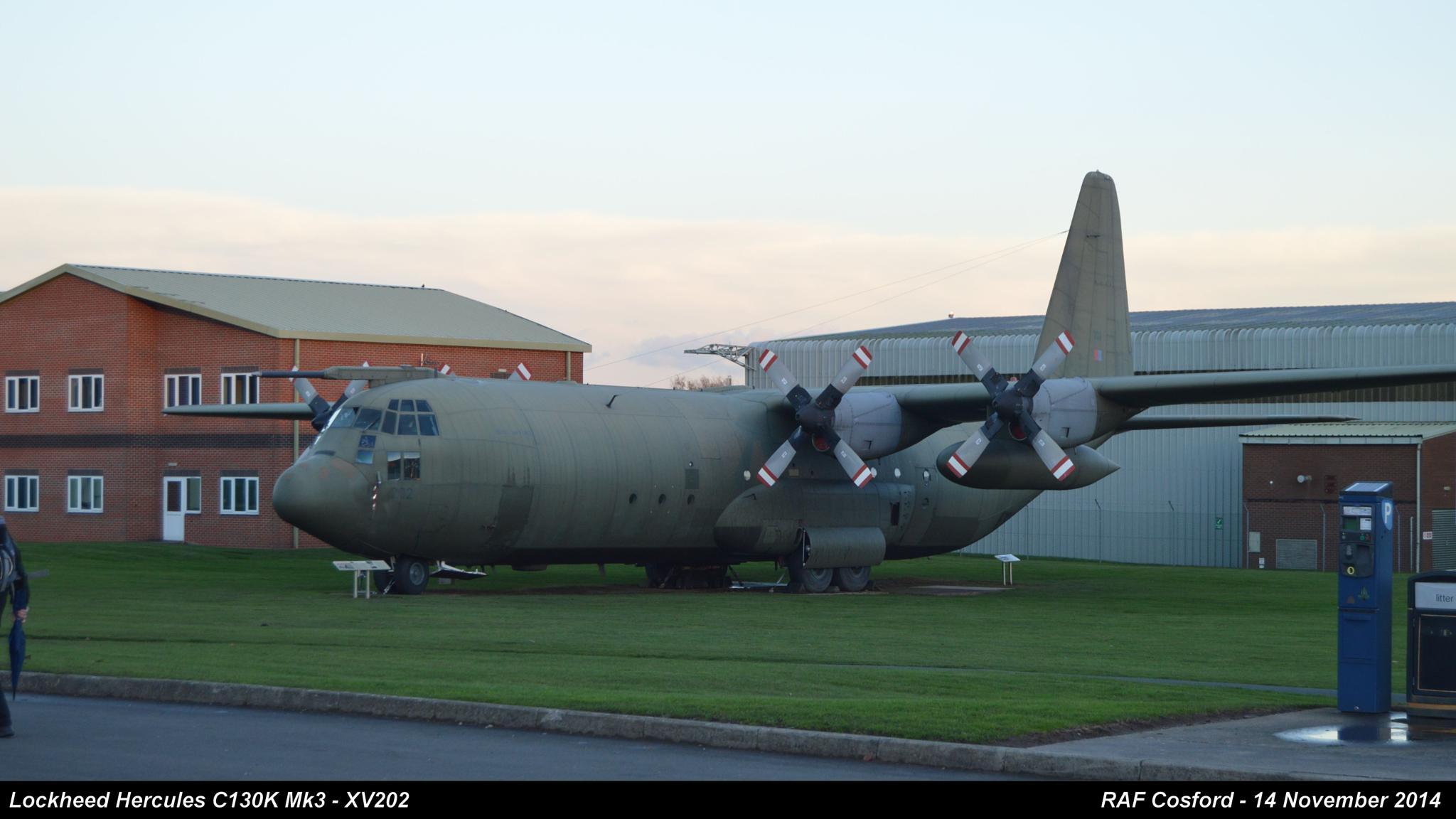 Lockheed Hercules C130K Mk3 - XV202 by Graham Wood Photo Collection