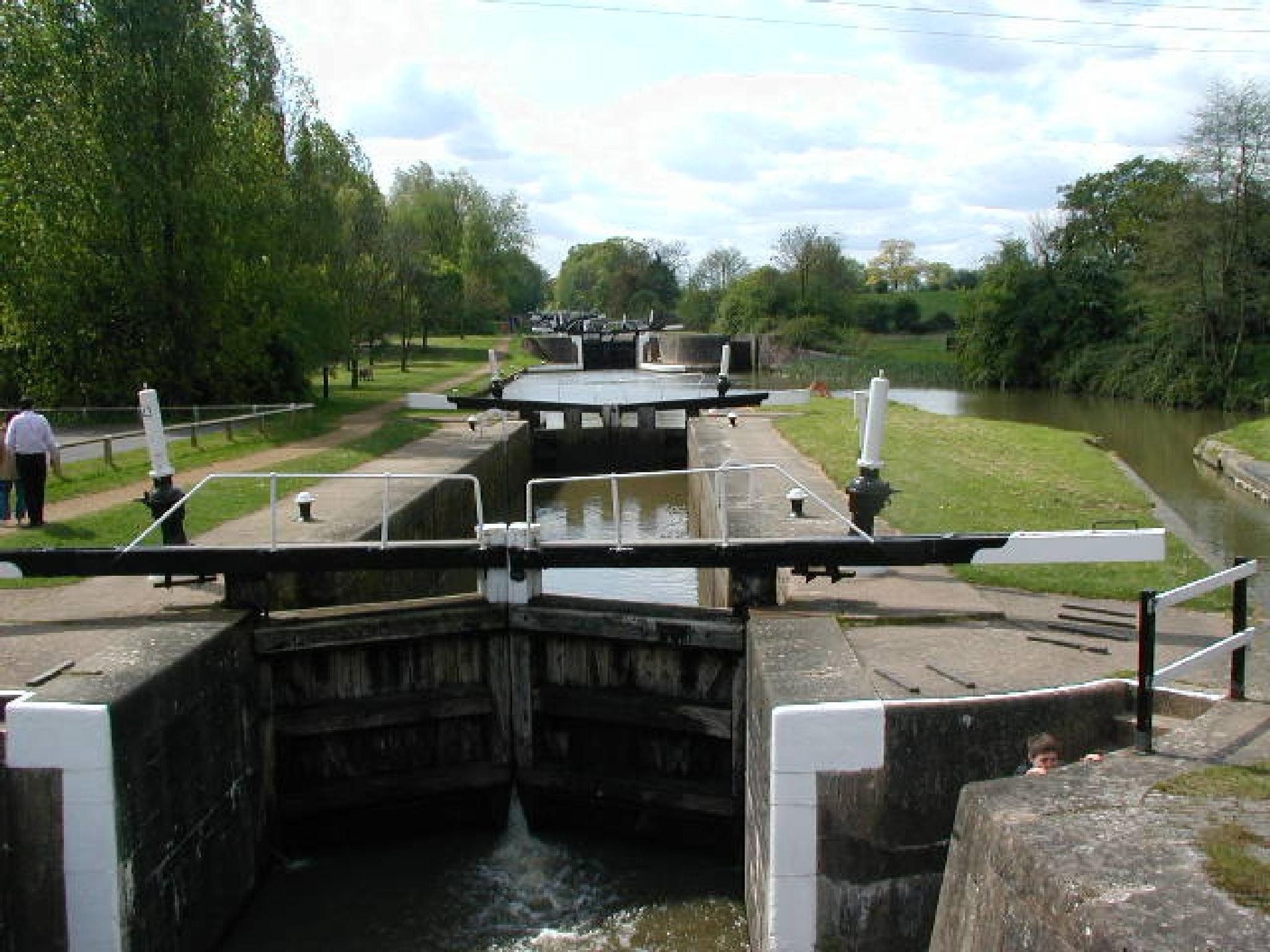 Hatton Locks by Graham Wood Photo Collection