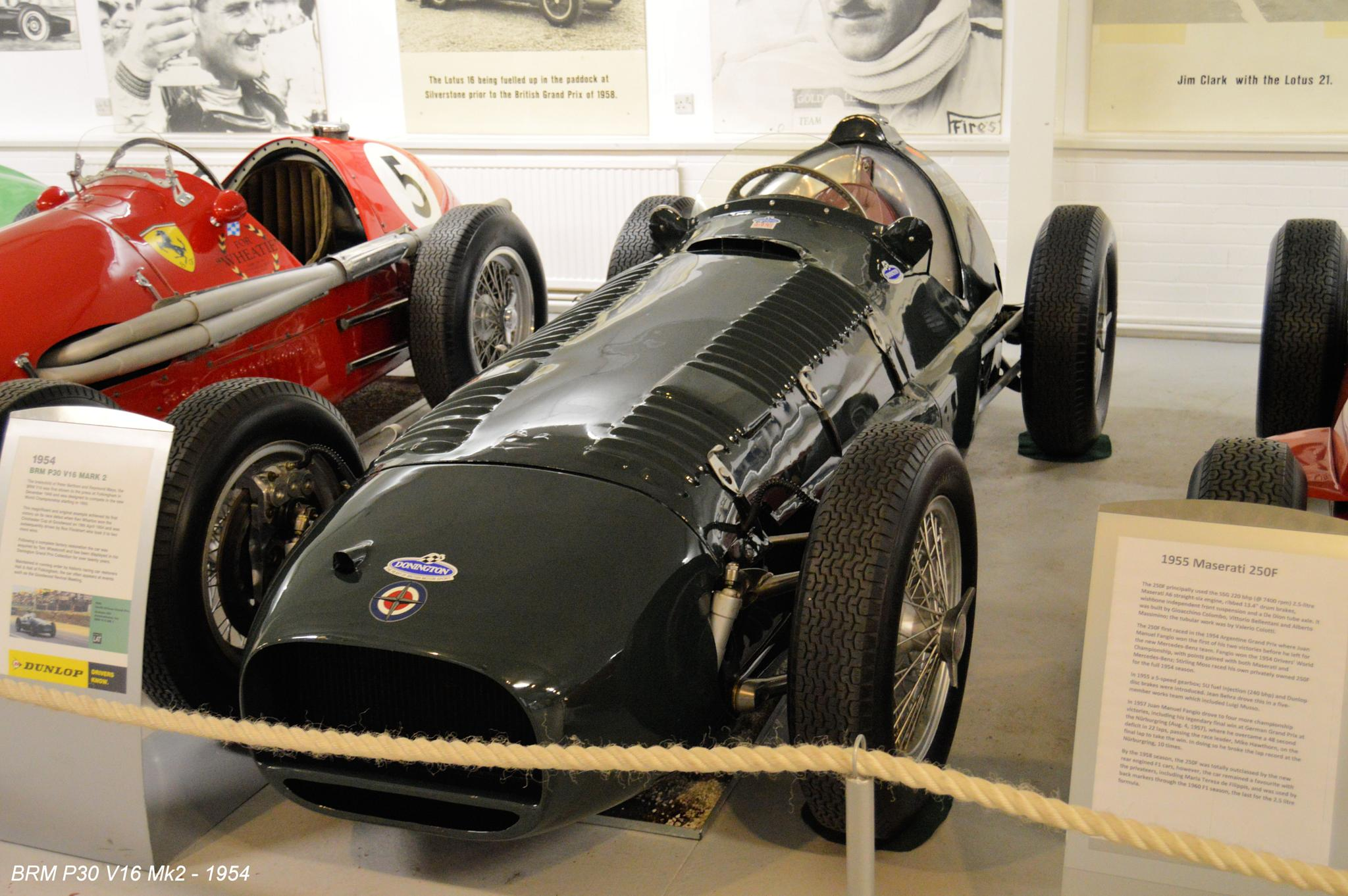 BRM P30 V16 Mk2 - 1954  by Graham Wood Photo Collection
