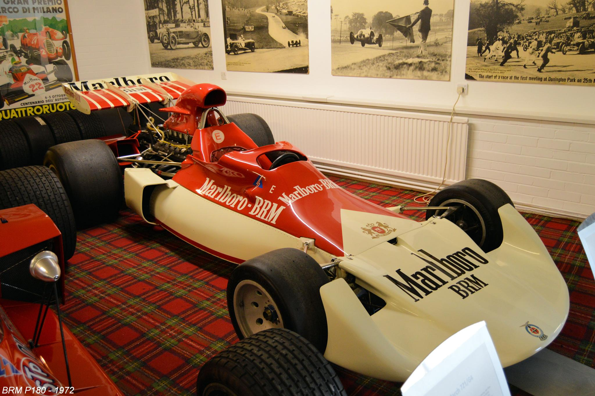 BRM P180 - 1972 by Graham Wood Photo Collection