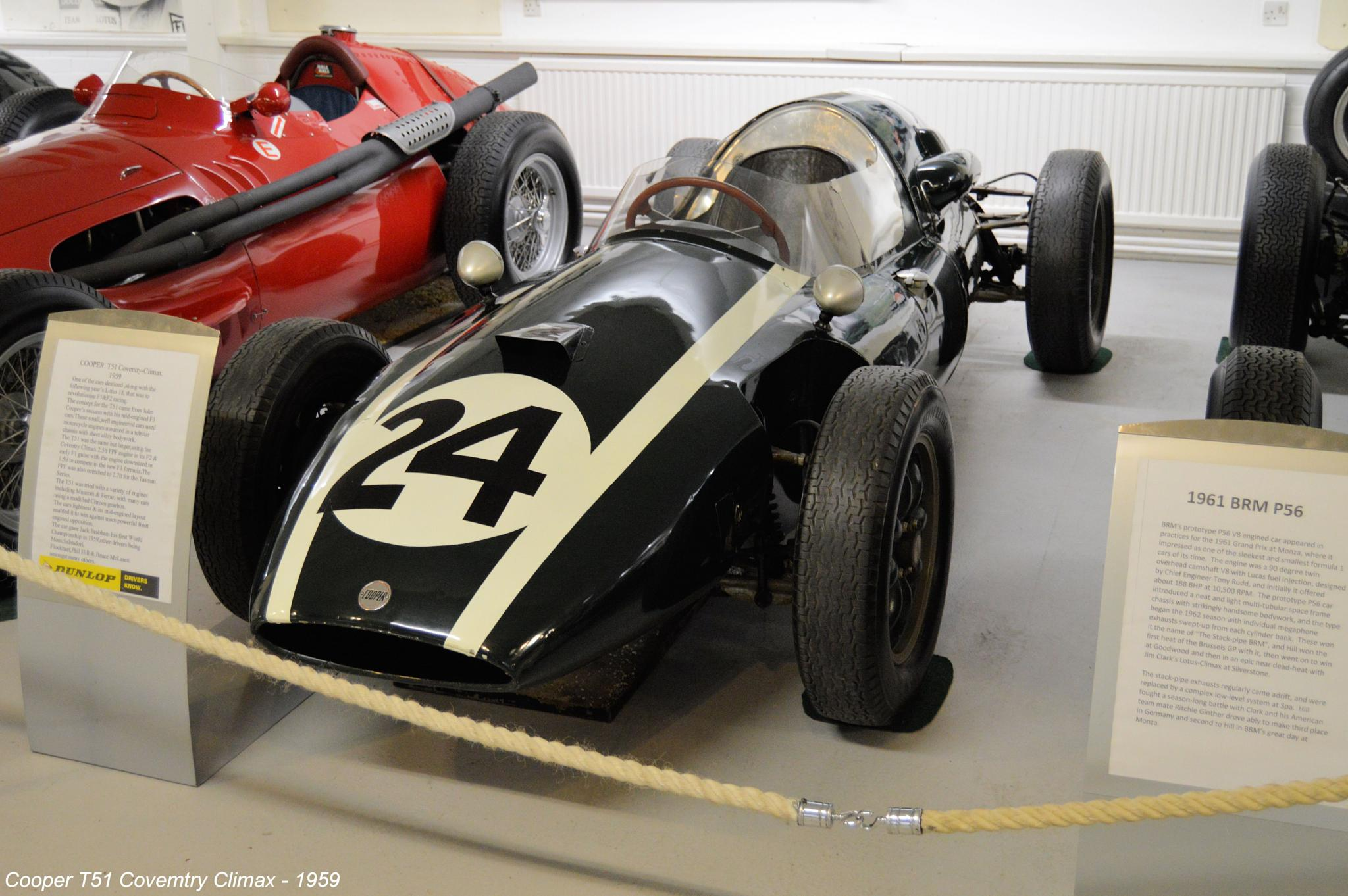 Cooper T51 Coventry Climax - 1959 by Graham Wood Photo Collection