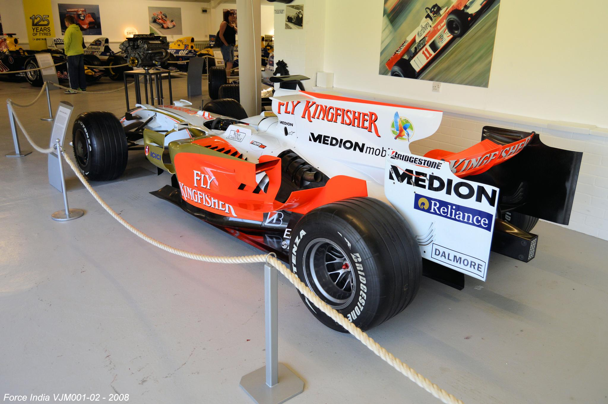Force India VJM001-02 - 2008 by Graham Wood Photo Collection