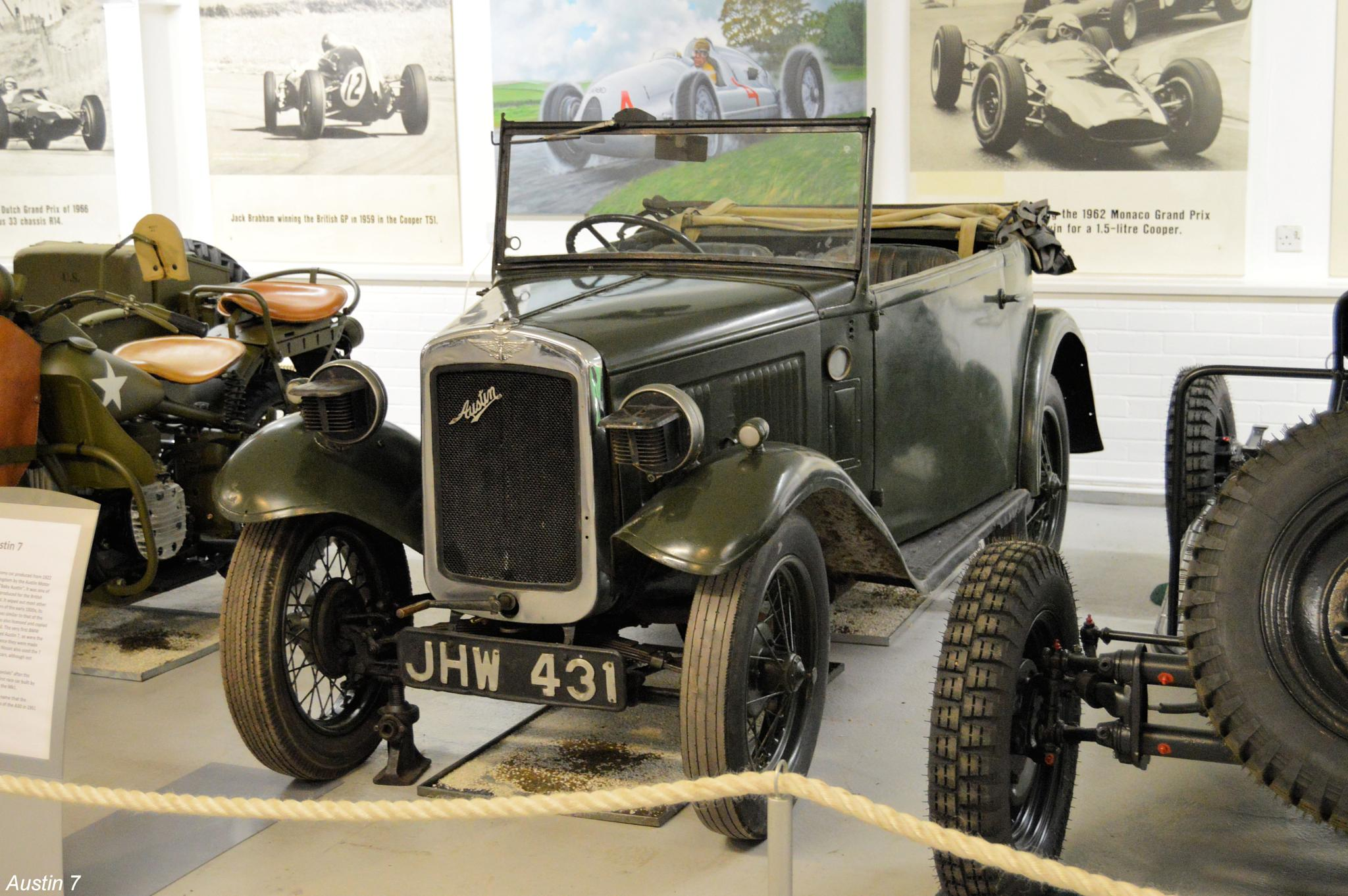 Austin 7 by Graham Wood Photo Collection