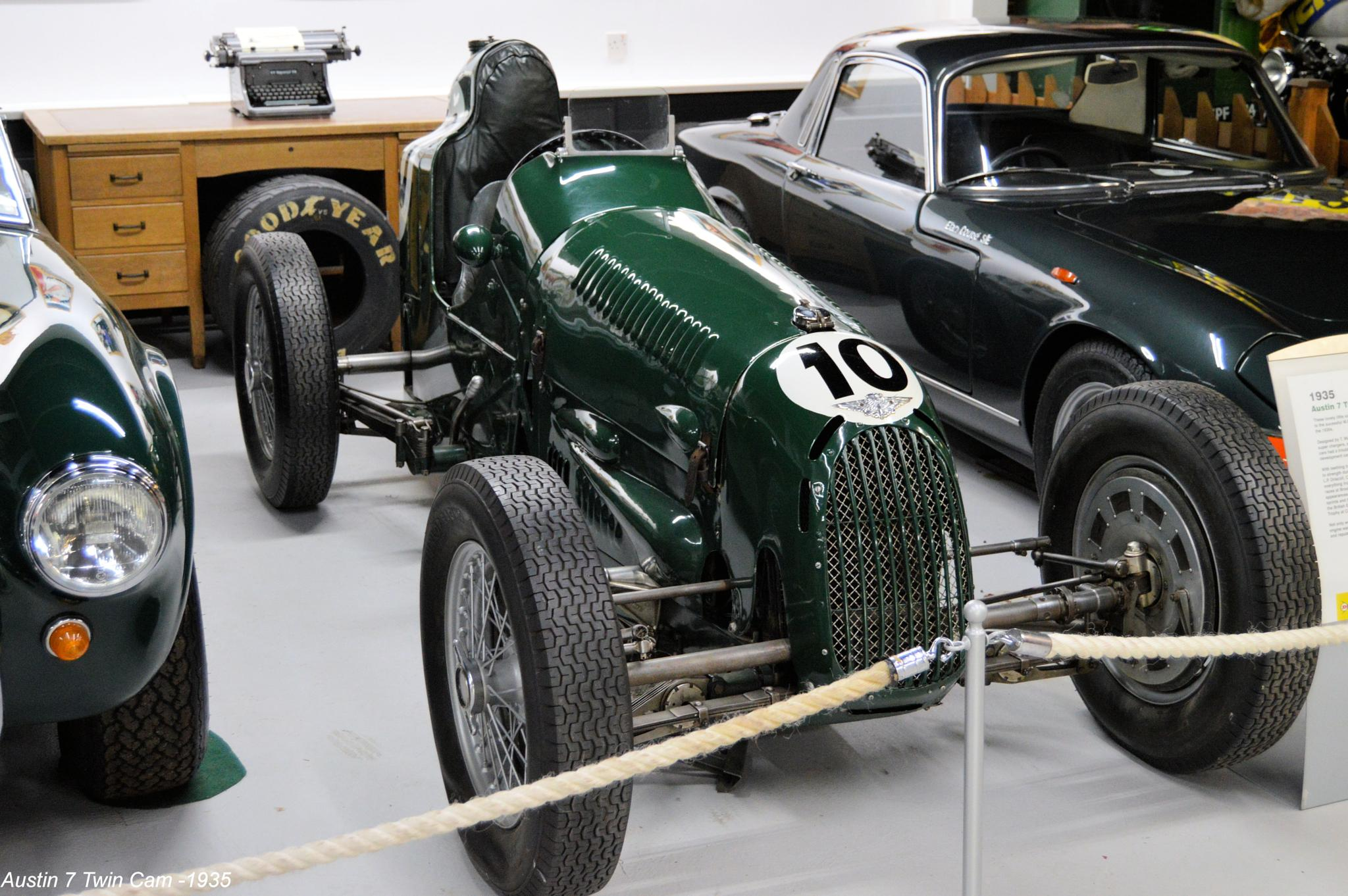 Austin 7 Twin Cam -1935  by Graham Wood Photo Collection