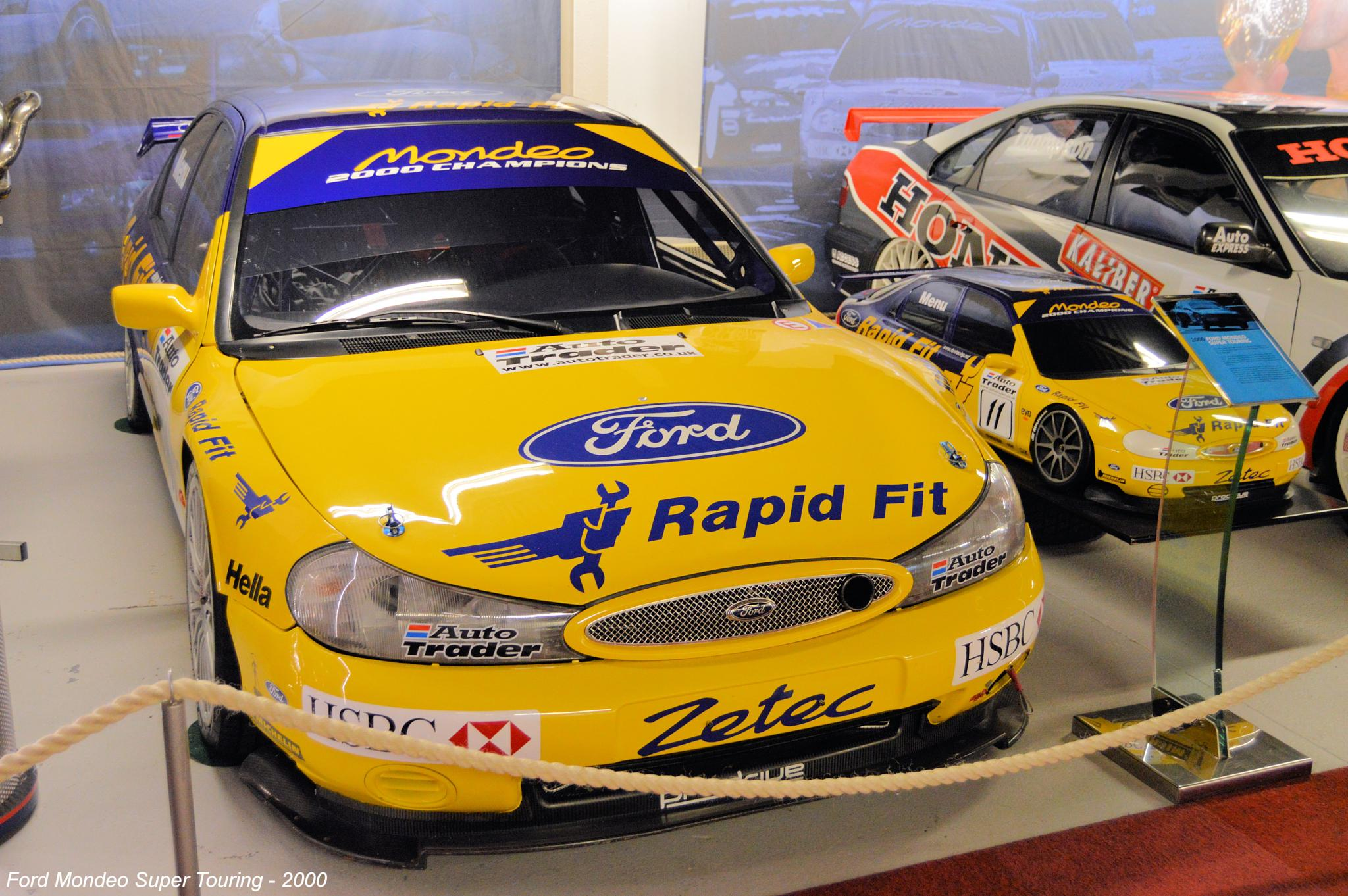Ford Mondeo Super Touring - 2000 by Graham Wood Photo Collection