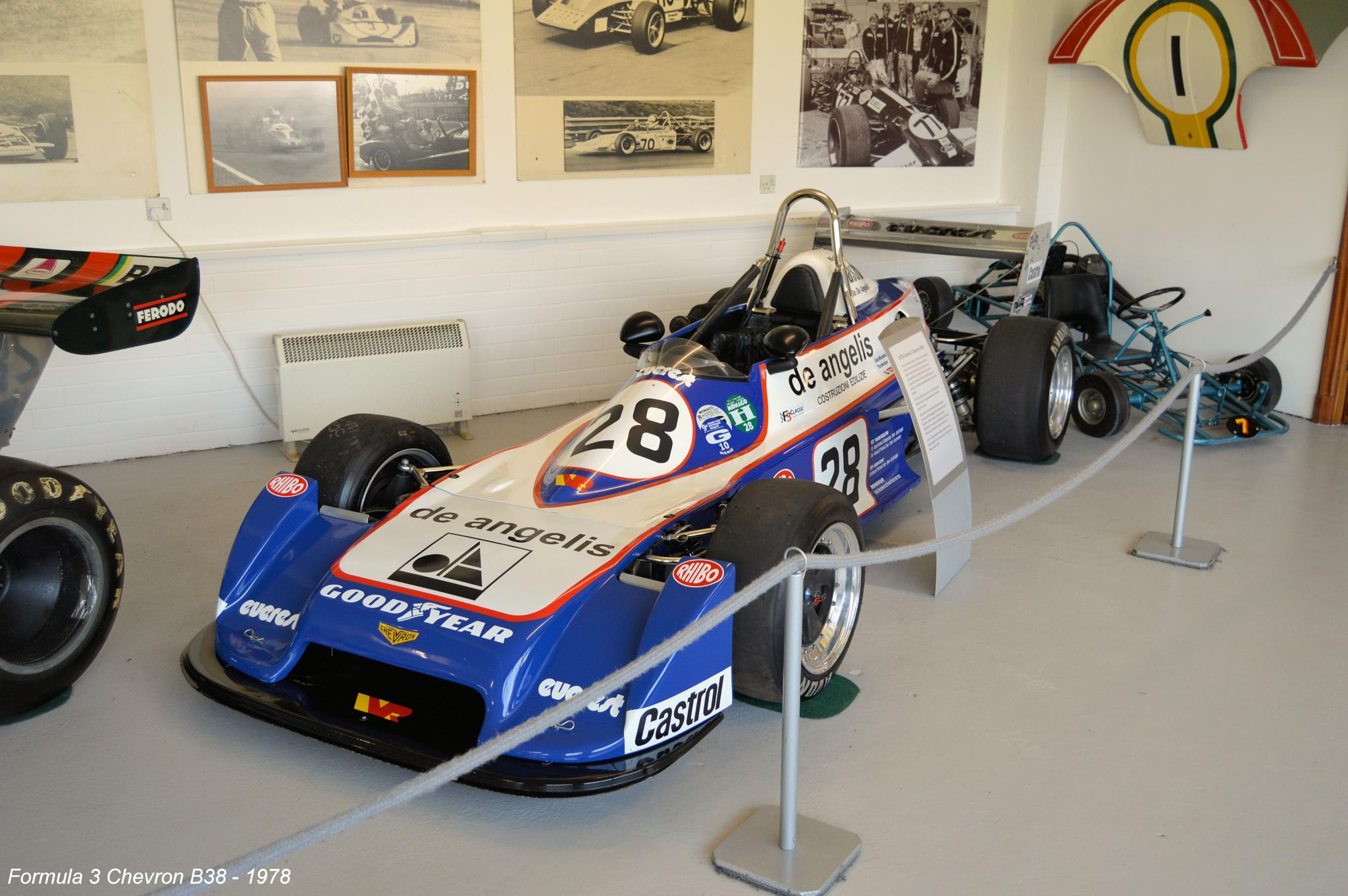 Formula 3 Chevron B38 - 1978 by Graham Wood Photo Collection