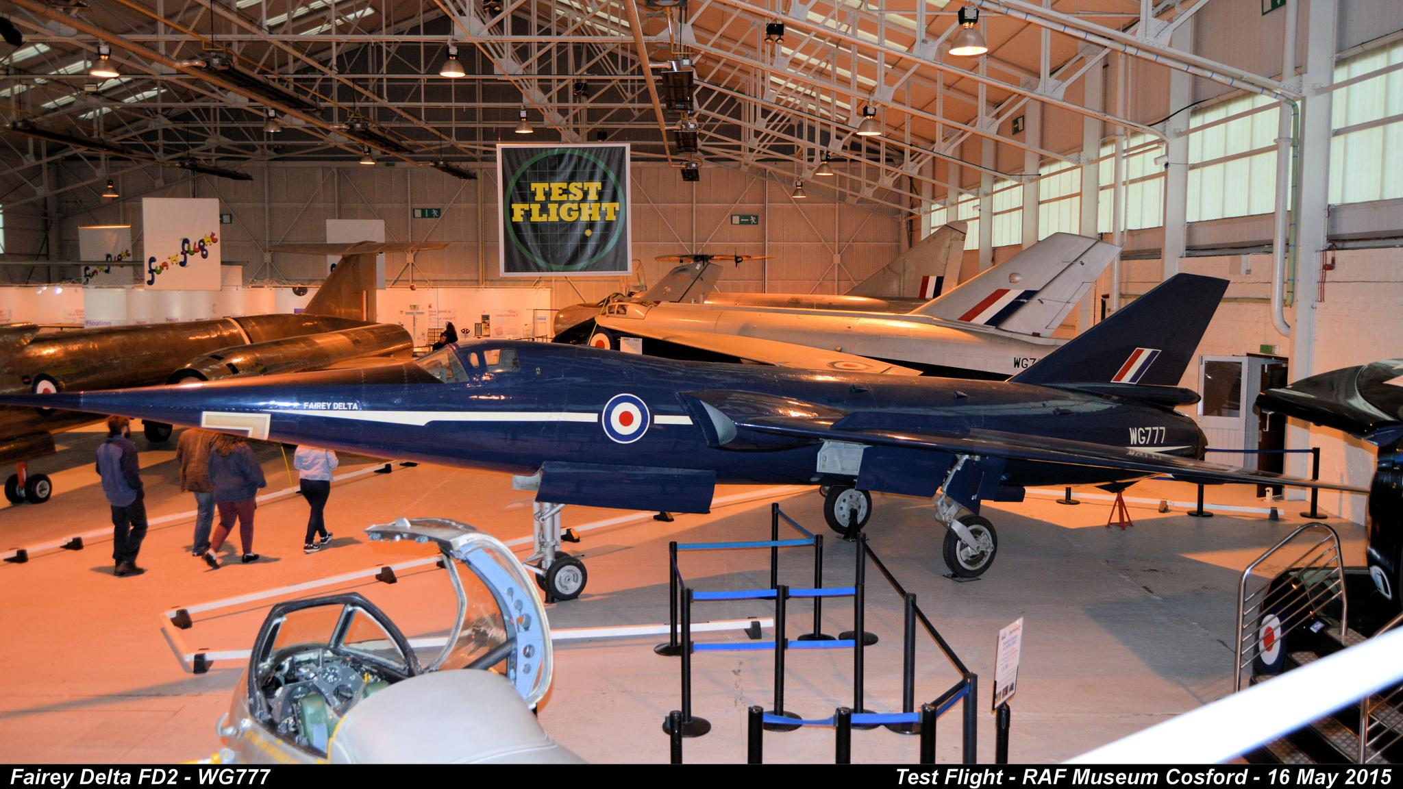 Fairey Delta FD2 - WG777 by Graham Wood Photo Collection