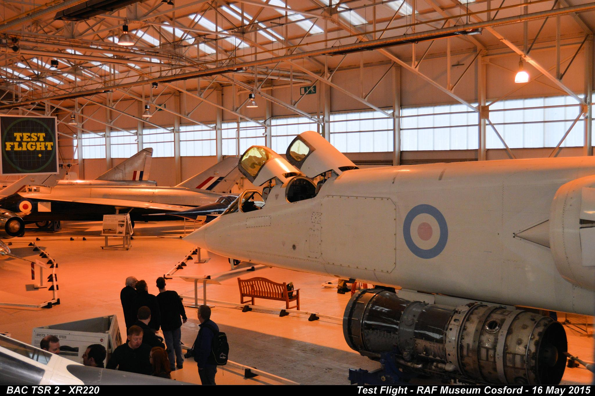 BAC TSR 2 - XR220 by Graham Wood Photo Collection