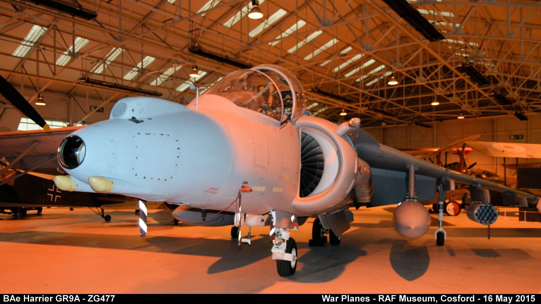 BAe Harrier GR9A - ZG477 by Graham Wood Photo Collection