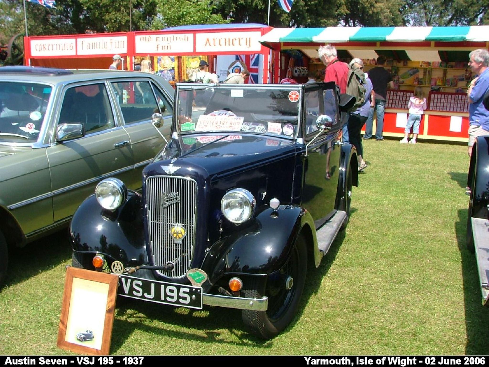 Austin Seven - 1937 by Graham Wood Photo Collection
